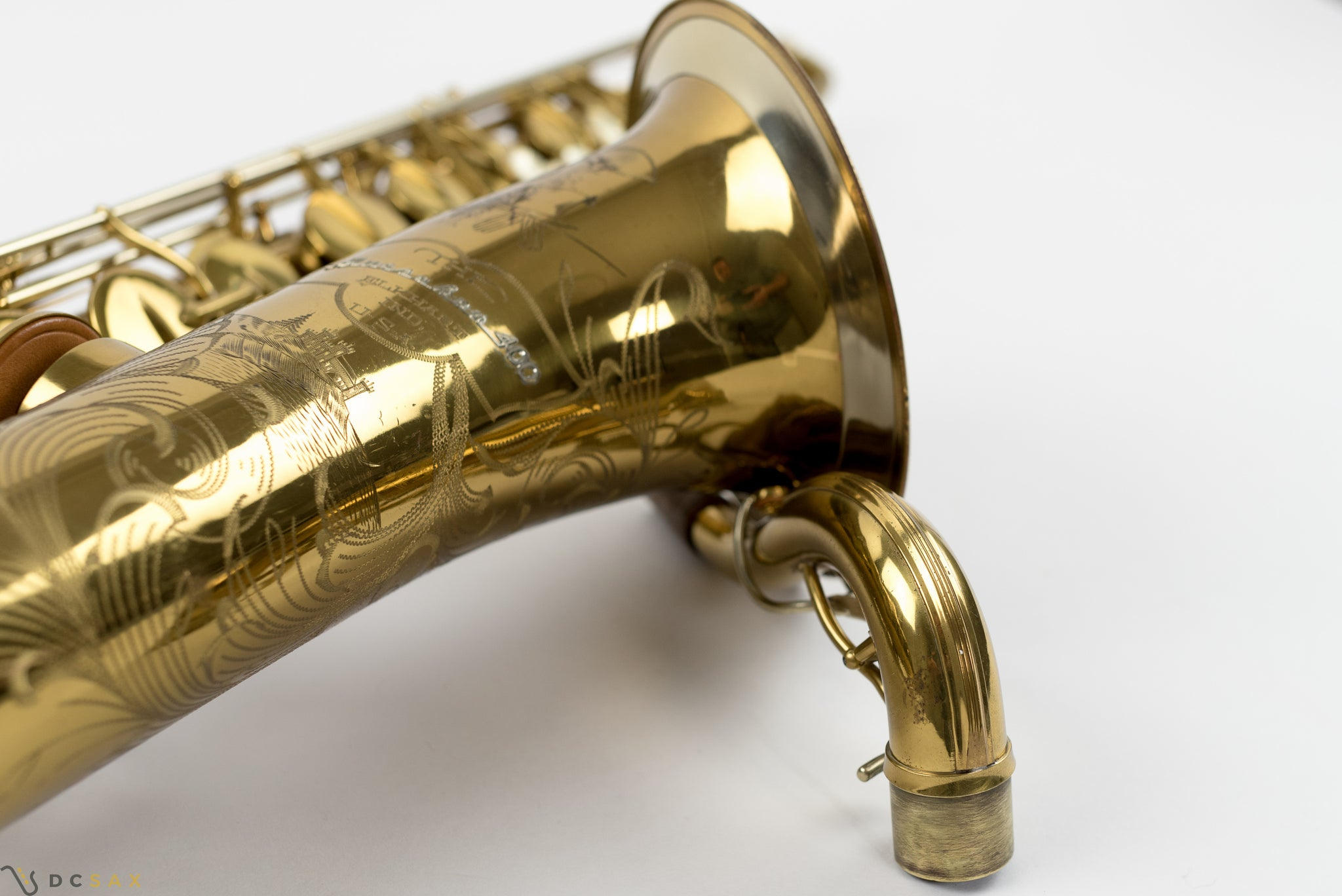 1945 Buescher 400 Top Hat and Cane Tenor Saxophone, Near Mint, Original Lacquer