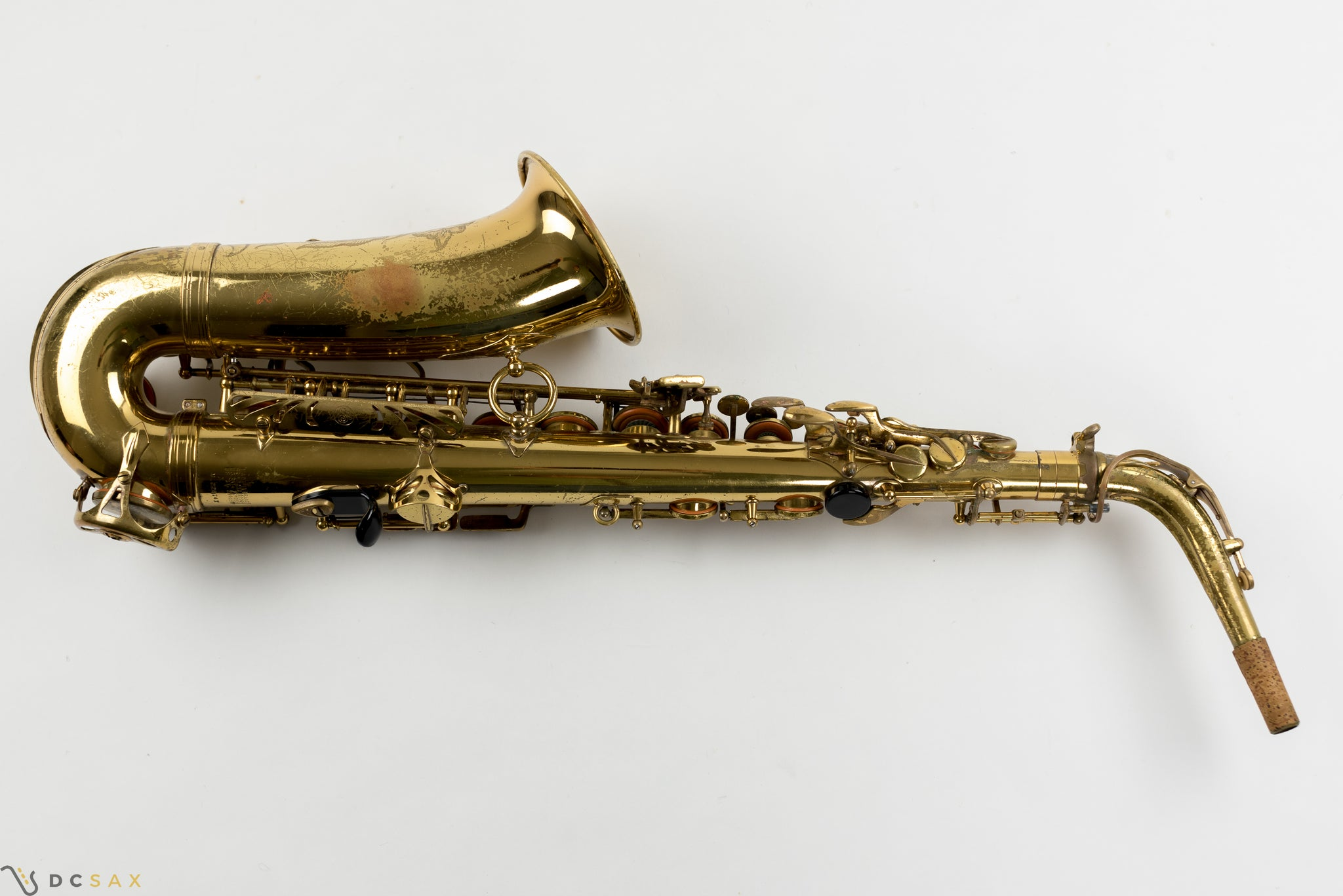228,xxx Selmer Mark VI Alto Saxophone, 95% Original Lacquer, Video