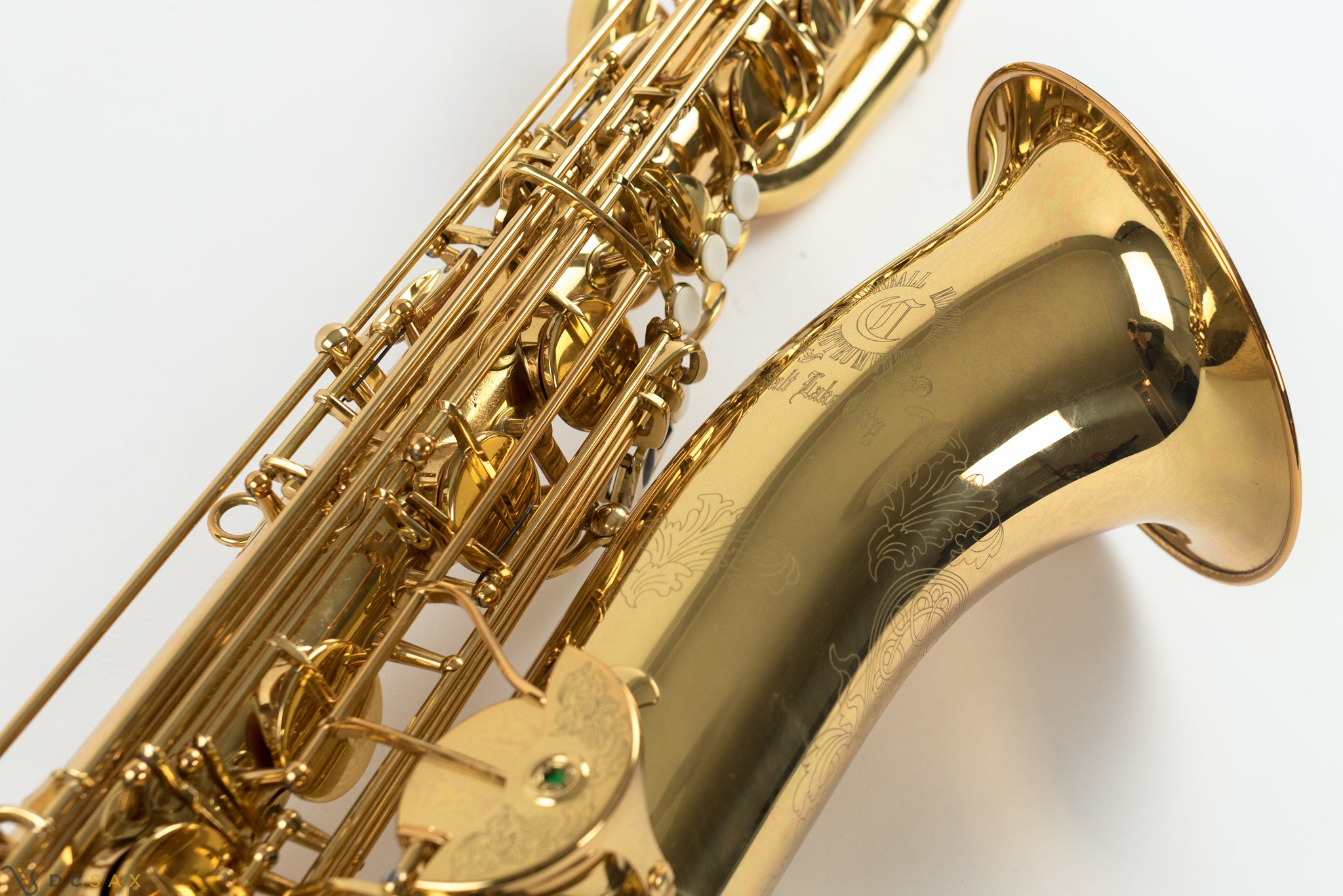 Cannonball Big Bell Series Baritone Saxophone, Just Serviced