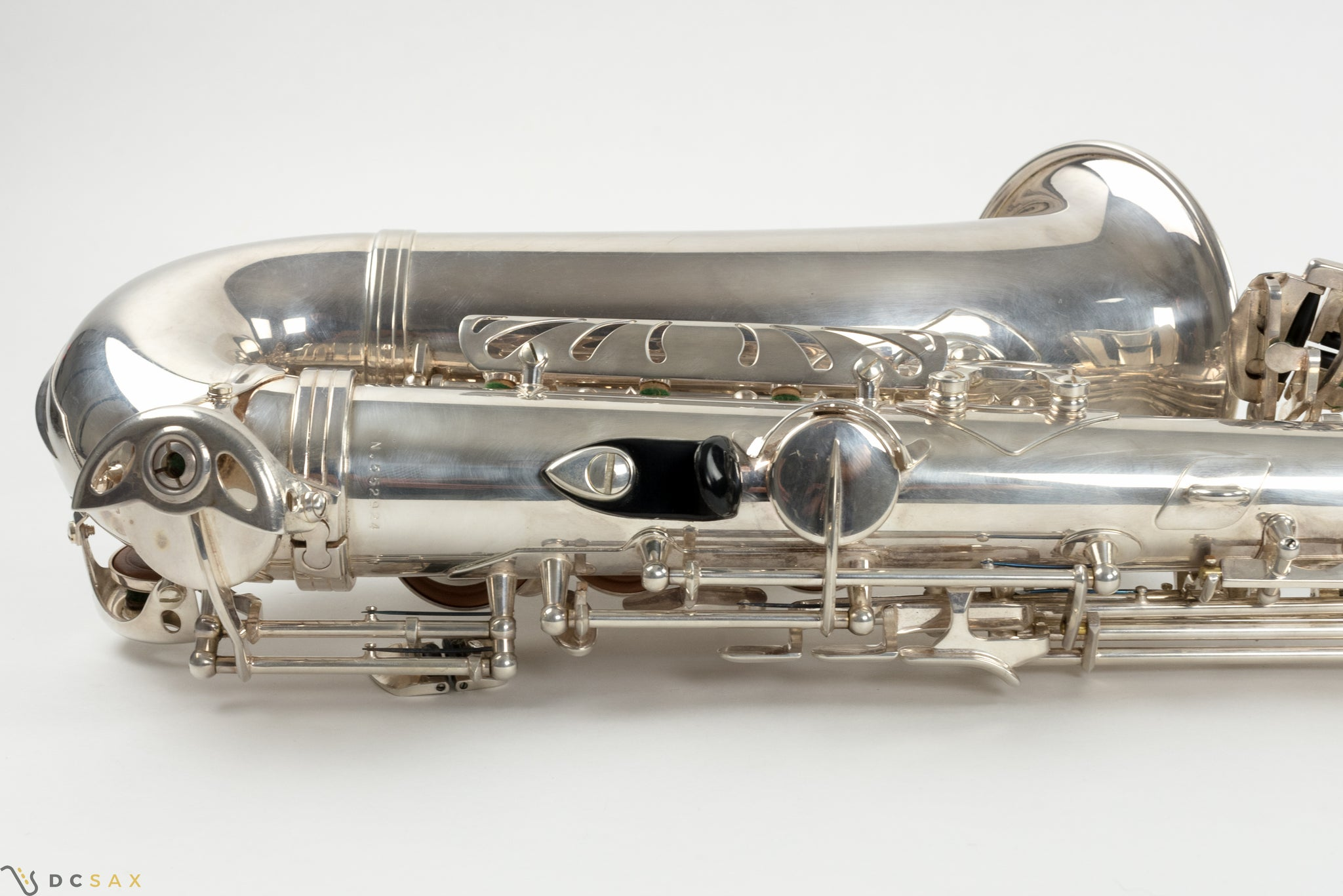 Selmer Super Action Series II Alto Saxophone, Silver Plated, Near Mint
