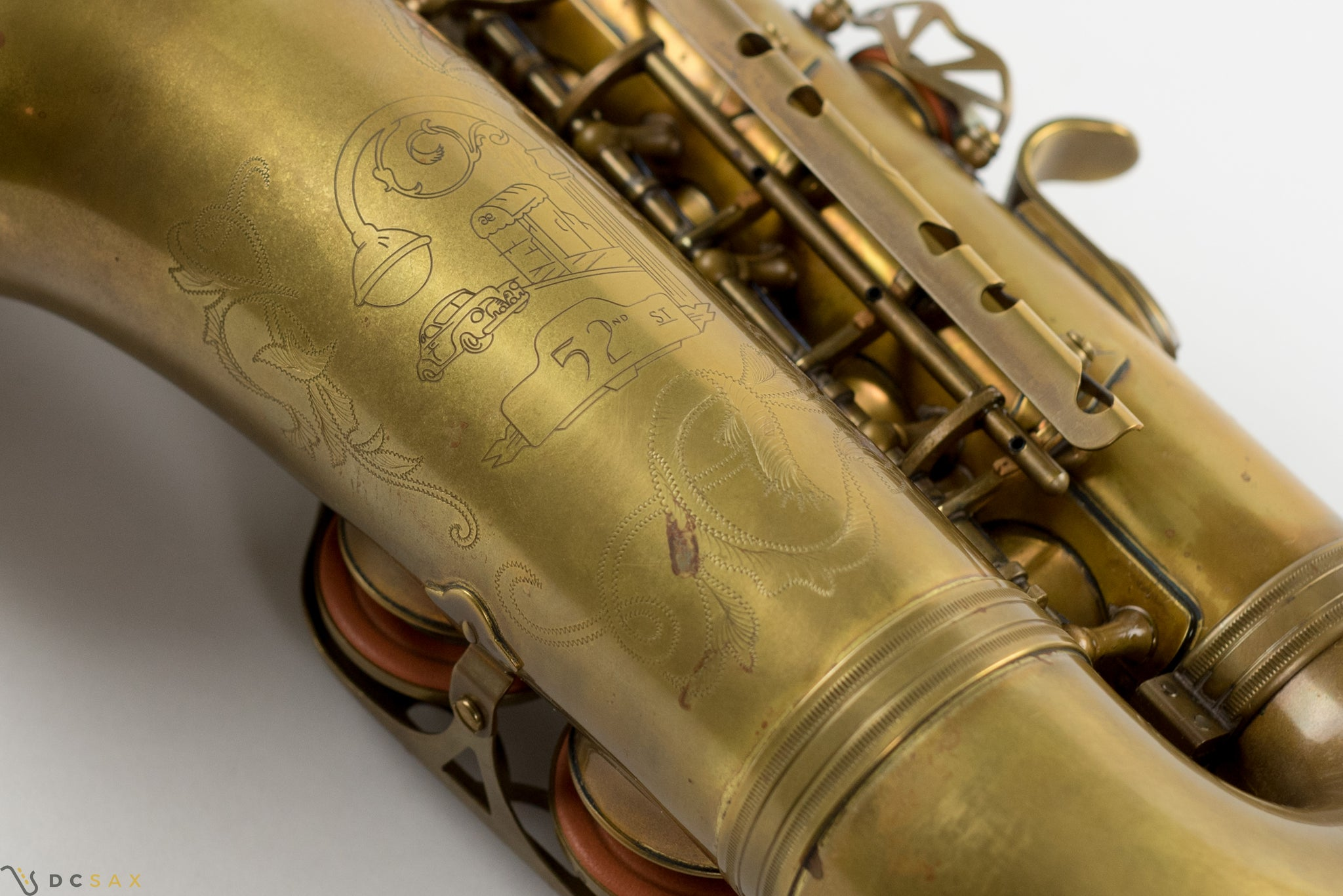 Eastman 52nd Street Alto Saxophone, Unlacquered, Just Serviced