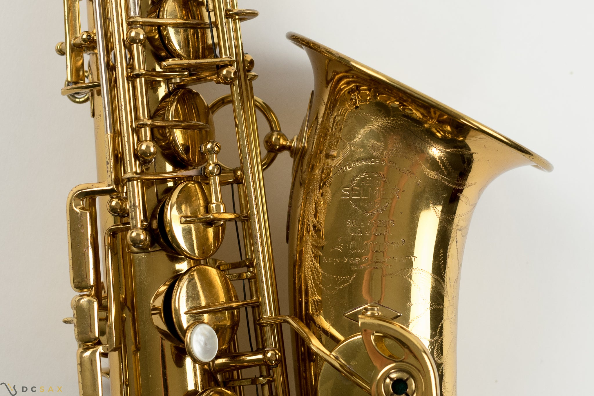 43,xxx Selmer Super Balanced Action Alto Saxophone