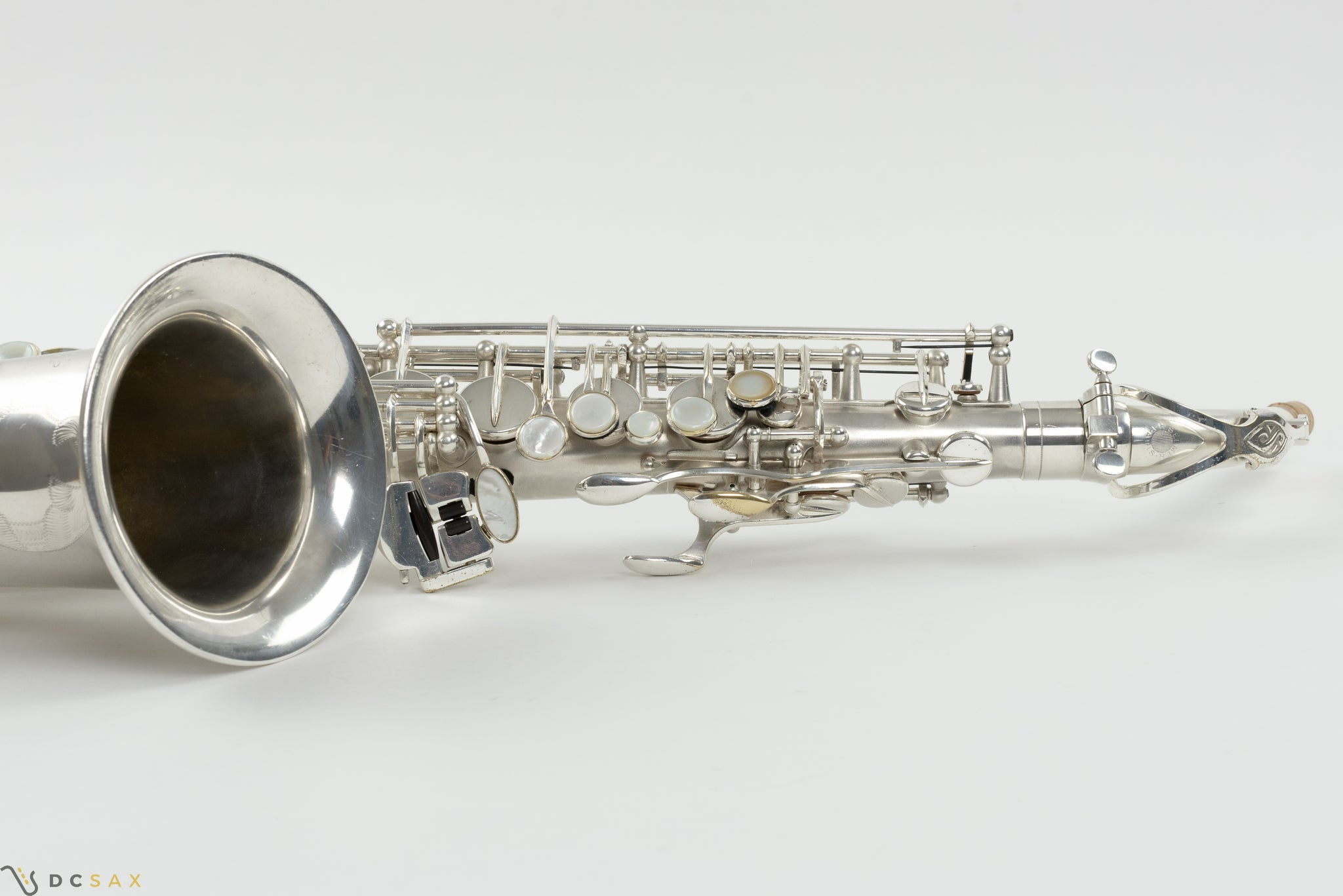 83,xxx Selmer Mark VI Alto Saxophone, 99% Original Satin Silver Plate, Medium Bow, Overhaul, WOW