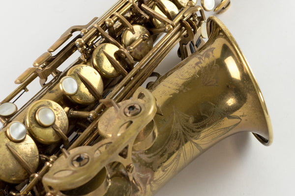 137,xxx Selmer Mark VI Alto Saxophone, 90% Original Lacquer, Sanborn S/N, Fresh Overhaul, Video