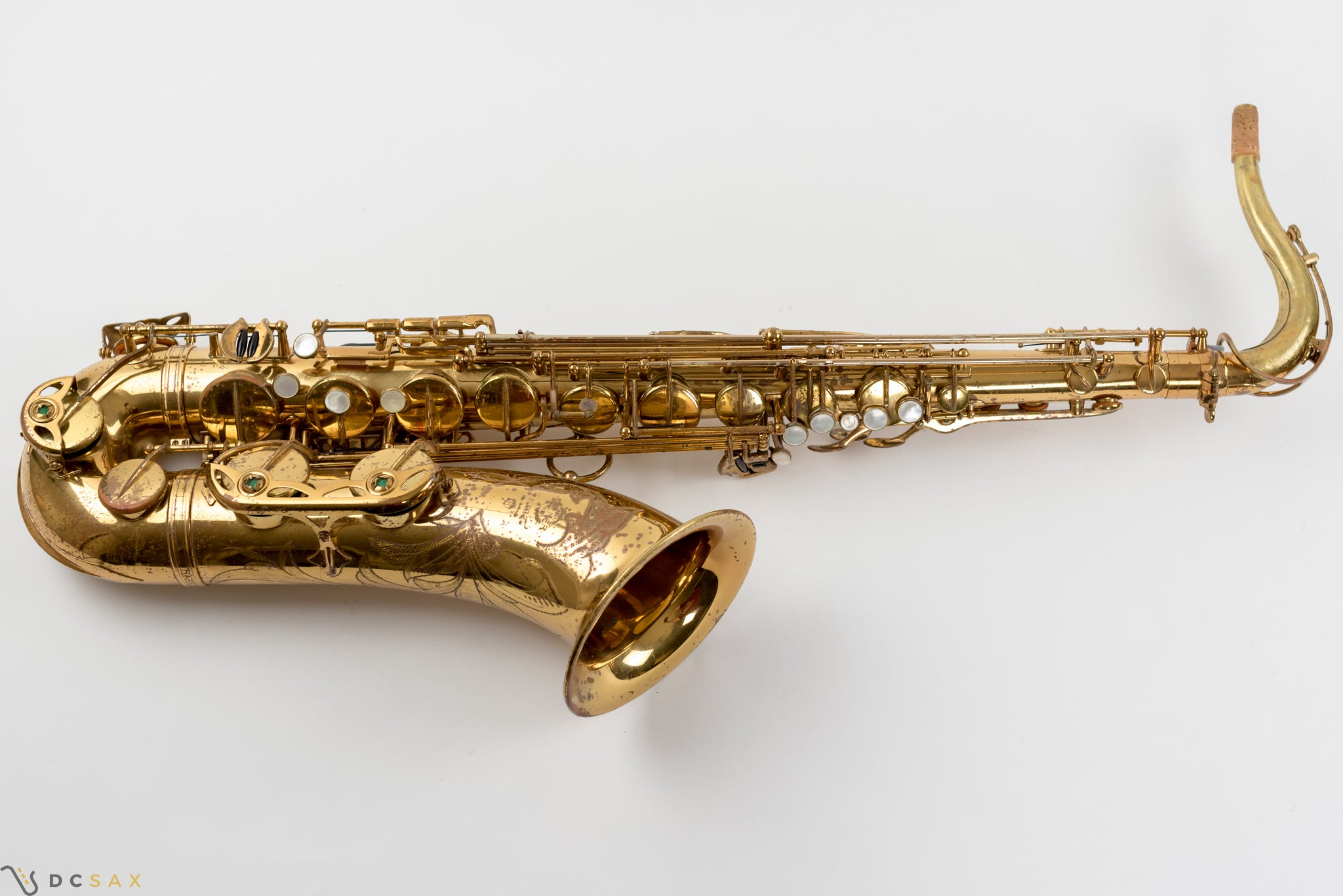 163,xxx Selmer Mark VI Tenor Saxophone, 93% Original Lacquer, High F#