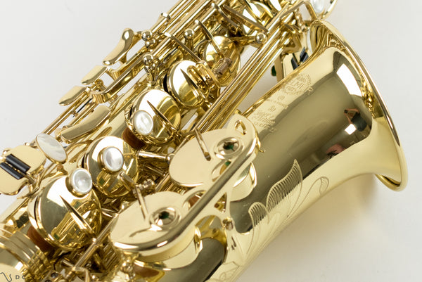 Selmer Series II Alto Saxophone, Just Serviced, Near Mint, Video