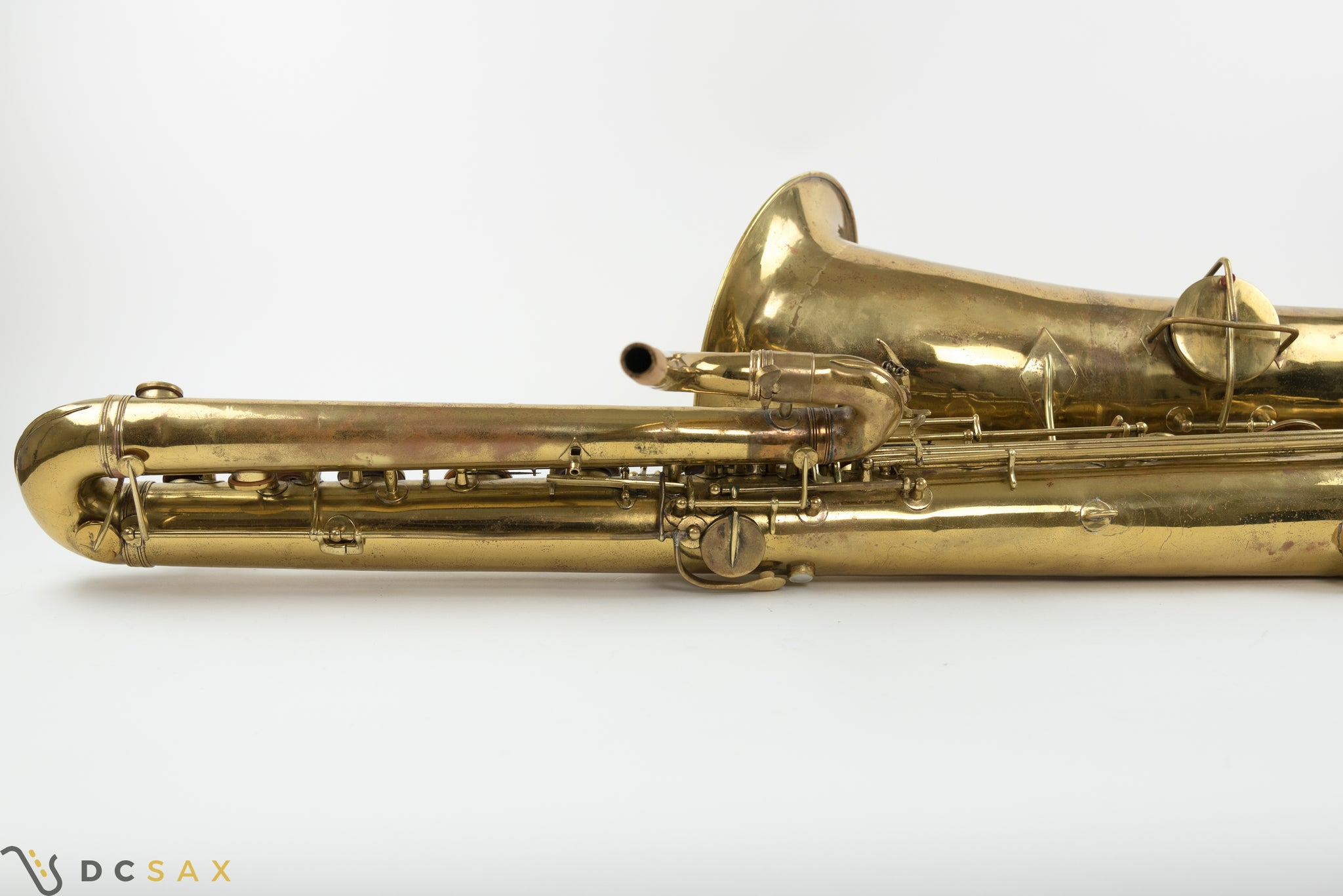 1926 Holton Bass Saxophone, Just Serviced