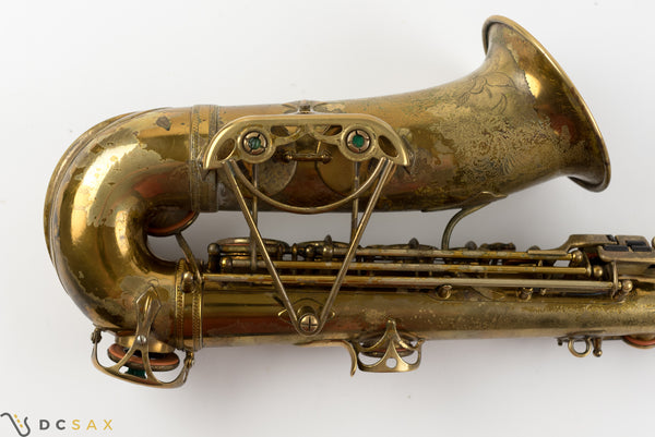28,xxx 1939 Selmer Jimmy Dorsey Series II Alto Saxophone, Video