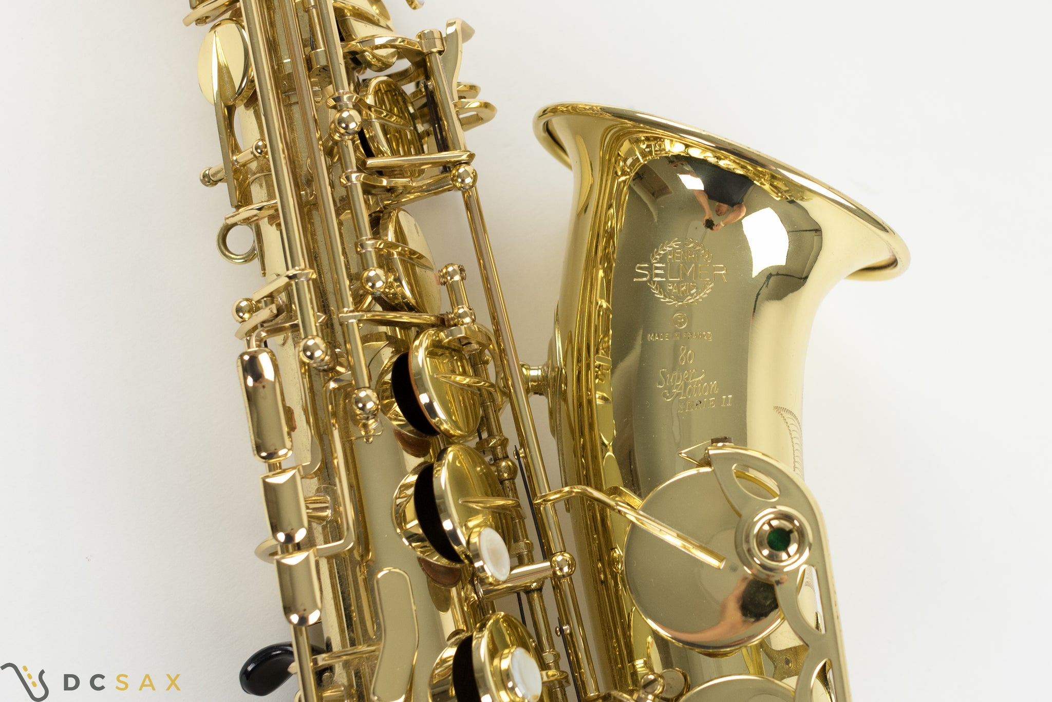 Selmer Series II Alto Saxophone, Just Serviced, Excellent Condition