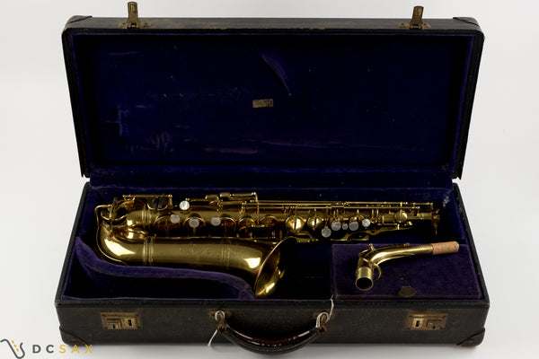17,xxx Selmer Super Sax Alto Saxophone, Just Serviced, Video