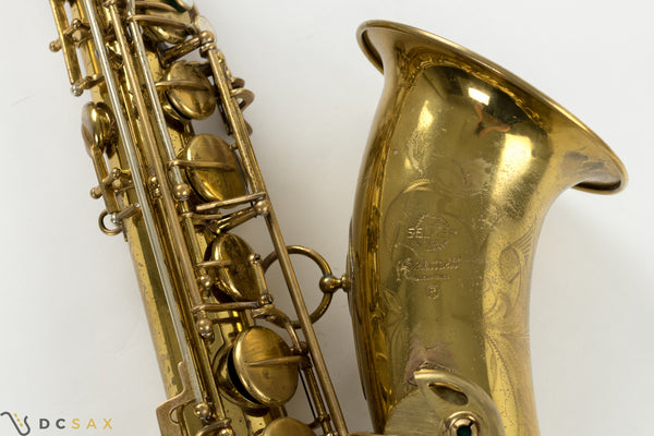 134,xxx Selmer Mark VI Tenor Saxophone, Varitone Model, Fresh Overhaul, Video