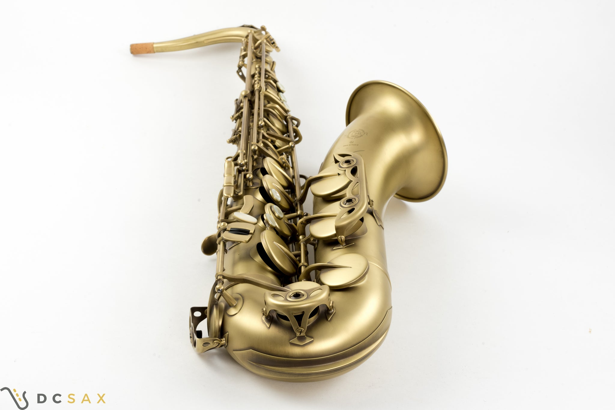 Selmer Reference 54 Tenor Saxophone, Matte Finish, Video