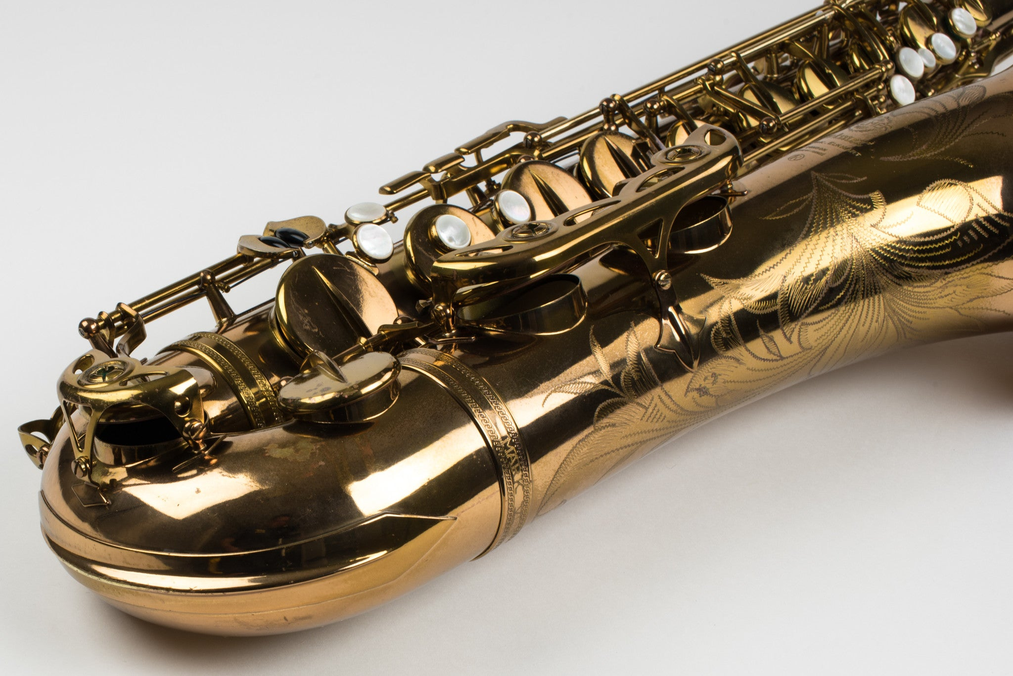 Selmer Mark VI Tenor Saxophone 121,xxx, 99% Original Lacquer, Top Overhaul