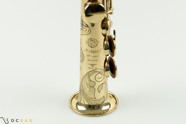 156,xxx Selmer Mark VI Soprano Saxohpone, 99% Original Lacquer, High F#, Video