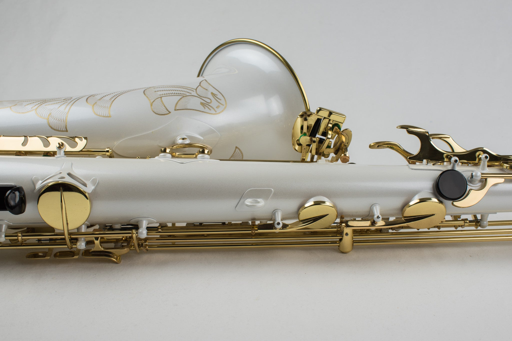 Selmer Super Action Series II Tenor Saxophone With Factory White Finish RARE!!!