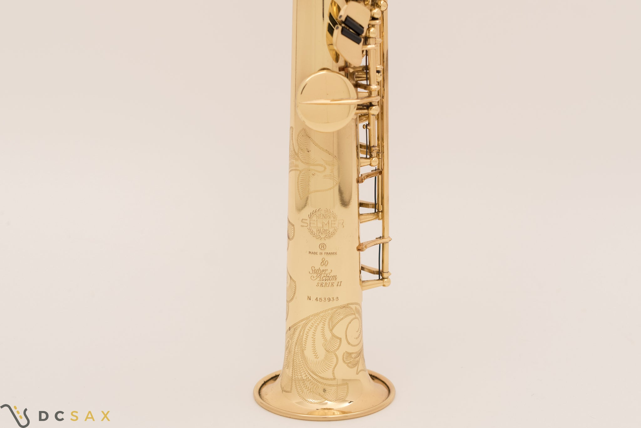 Selmer Super Action Series II Soprano Saxophone, Just Serviced
