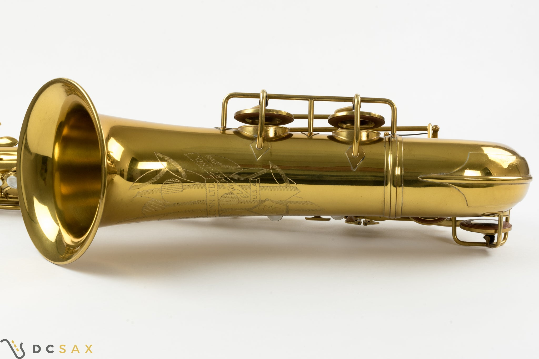 1947 321,xxx Conn 10M Tenor Saxophone, Near Mint, Video