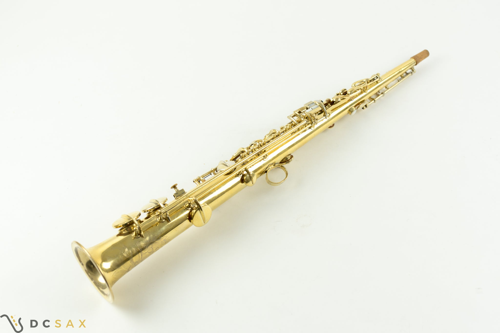 1923 Conn New Wonder Soprano Saxophone, Gold Plated, Fresh Overhaul