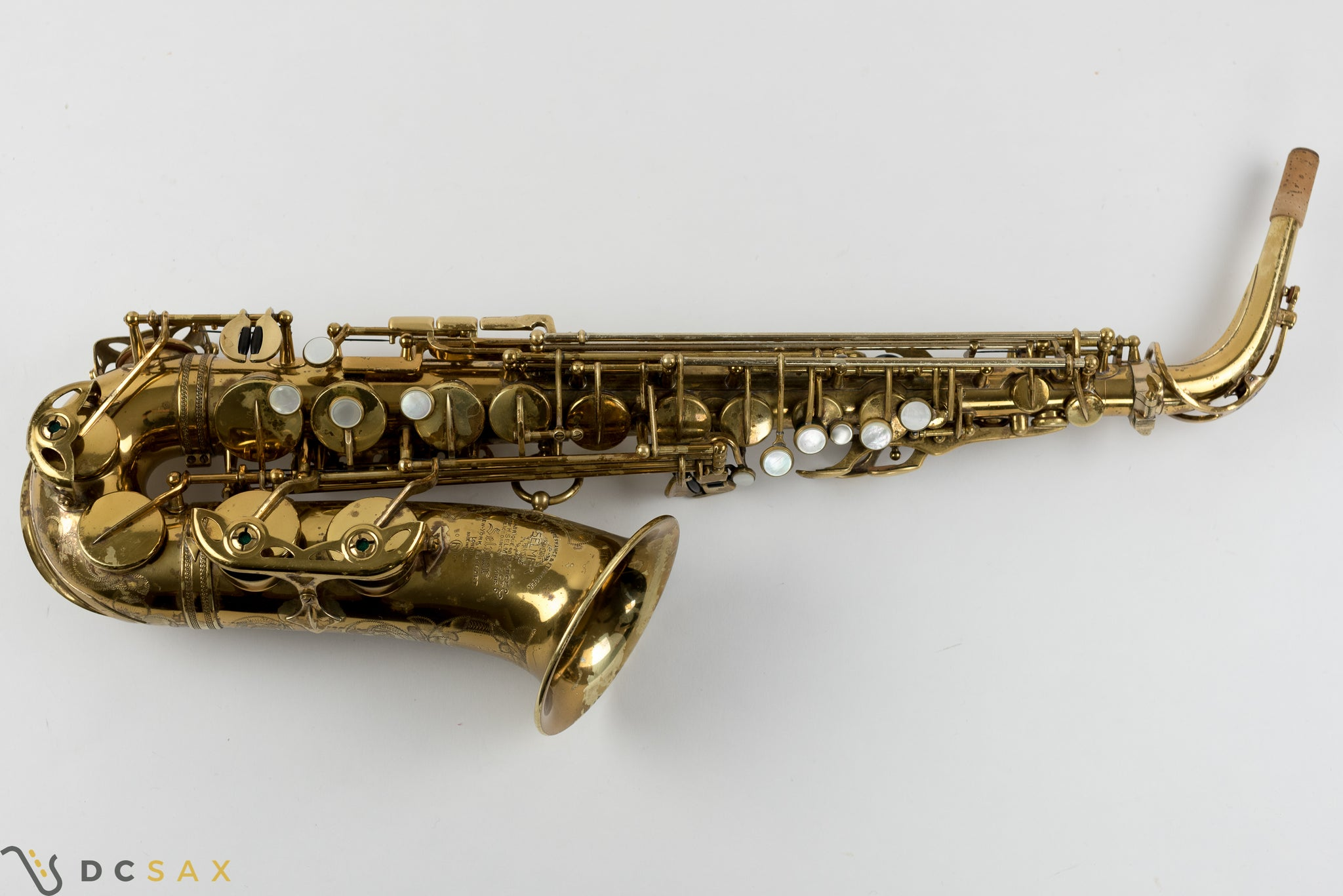 87,xxx Selmer Mark VI Alto Saxophone, 90% Original Lacquer, Medium Bow, Overhaul, Video