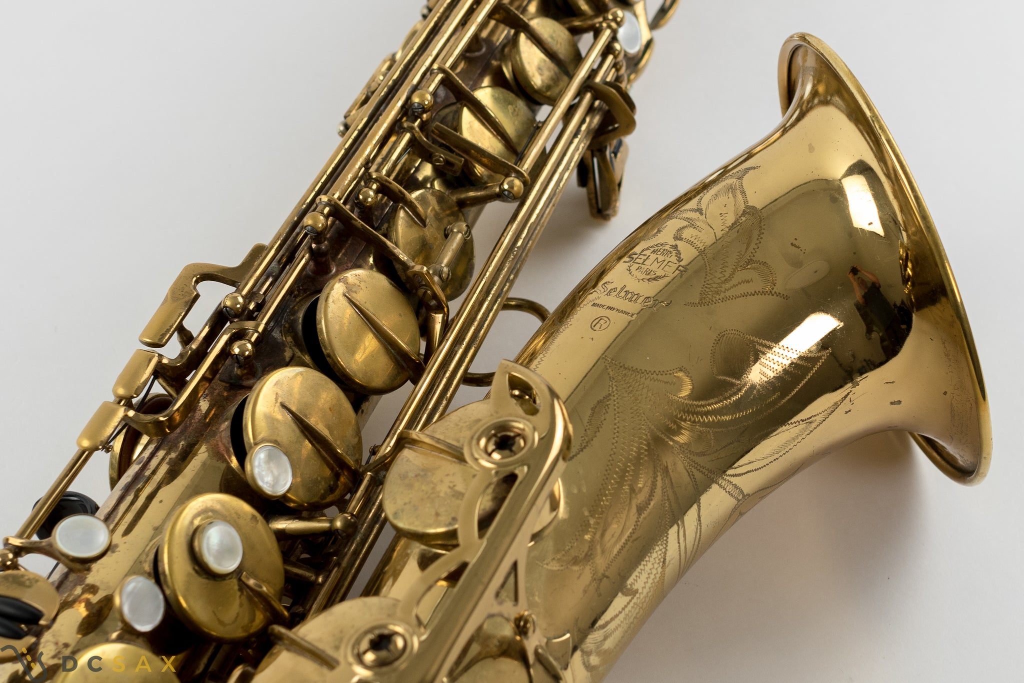 191,xxx Selmer Mark VI Tenor Saxophone, 96% Original Lacquer, Just Serviced