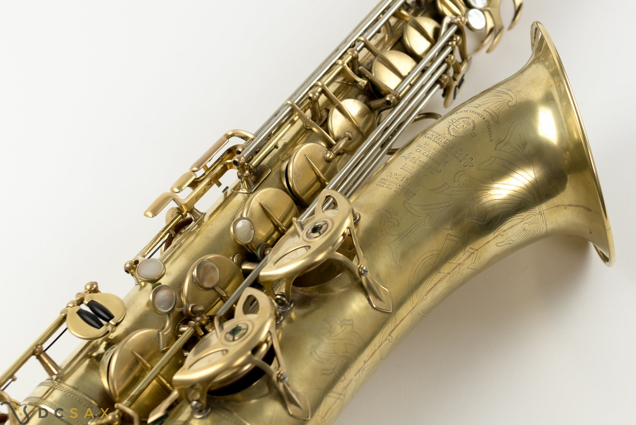 21,xxx Selmer Balanced Action Tenor Saxophone, Just Serviced, Video