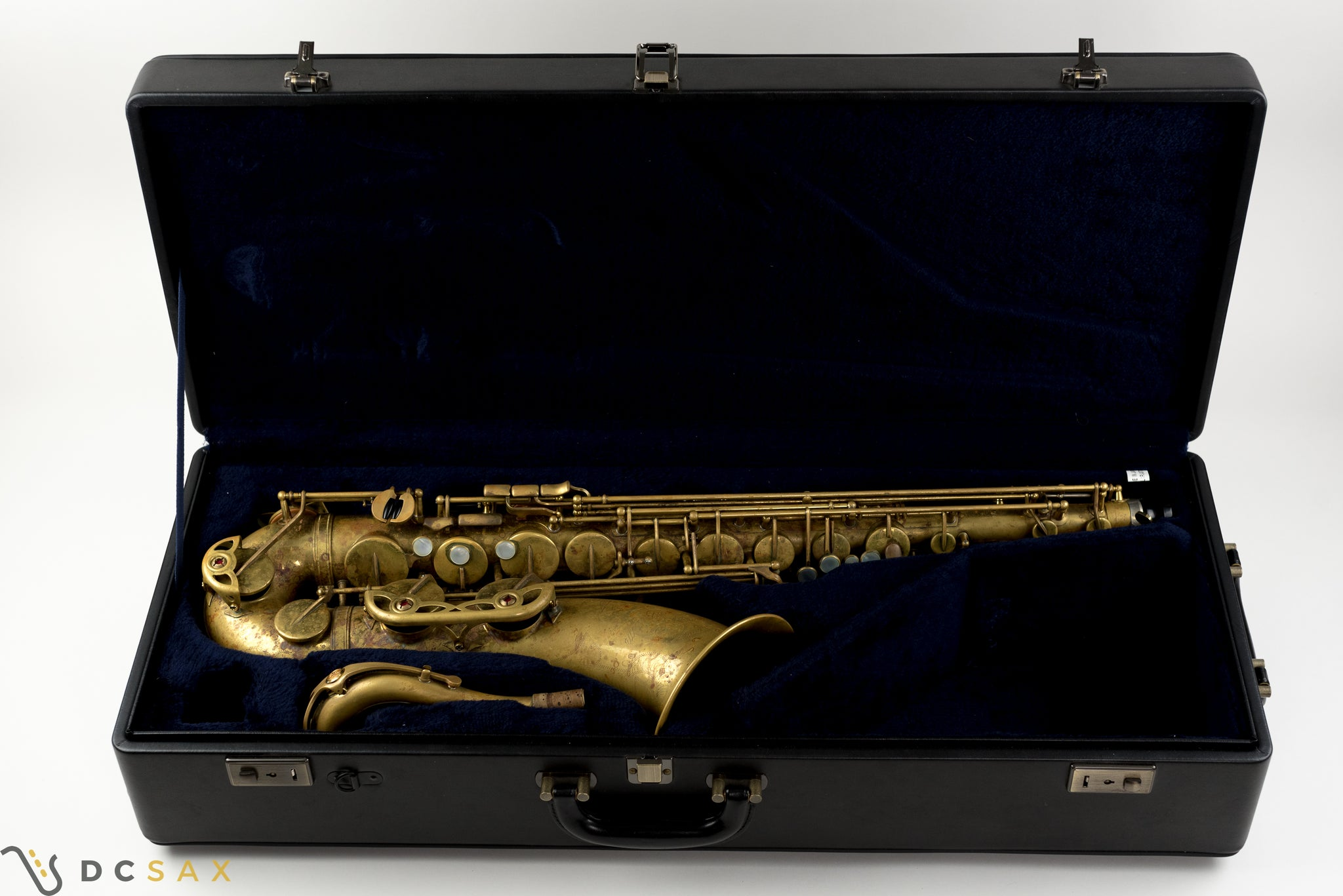 Yamaha Custom 82Z Unlacquered Tenor Saxophone, V1 Neck, Video