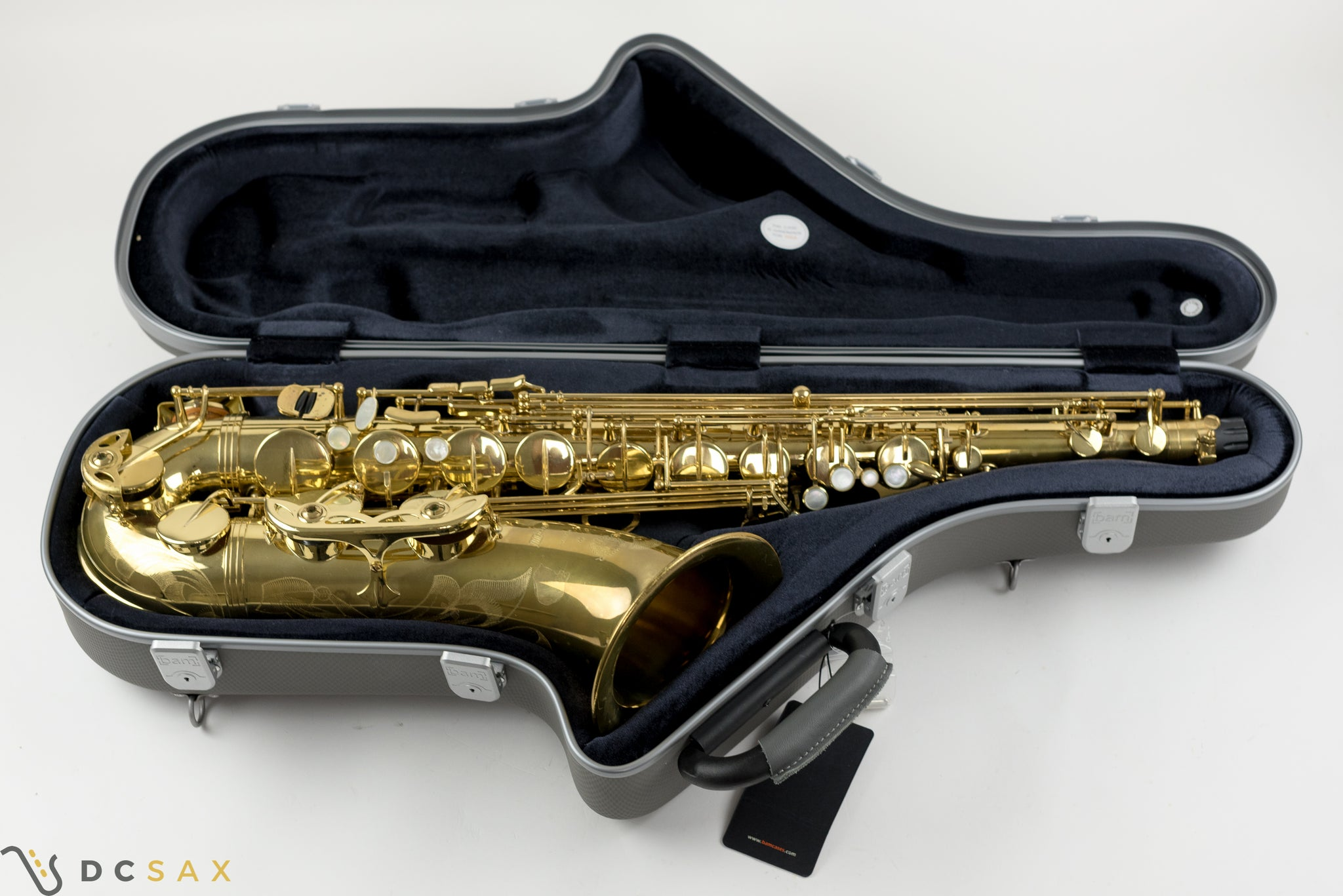Selmer Series III Tenor Saxophone, Just Serviced, New Bam Case