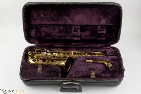 136,xxx Selmer Mark VI Alto Saxophone, 98% Original Lacquer, Fresh Overhaul, Video