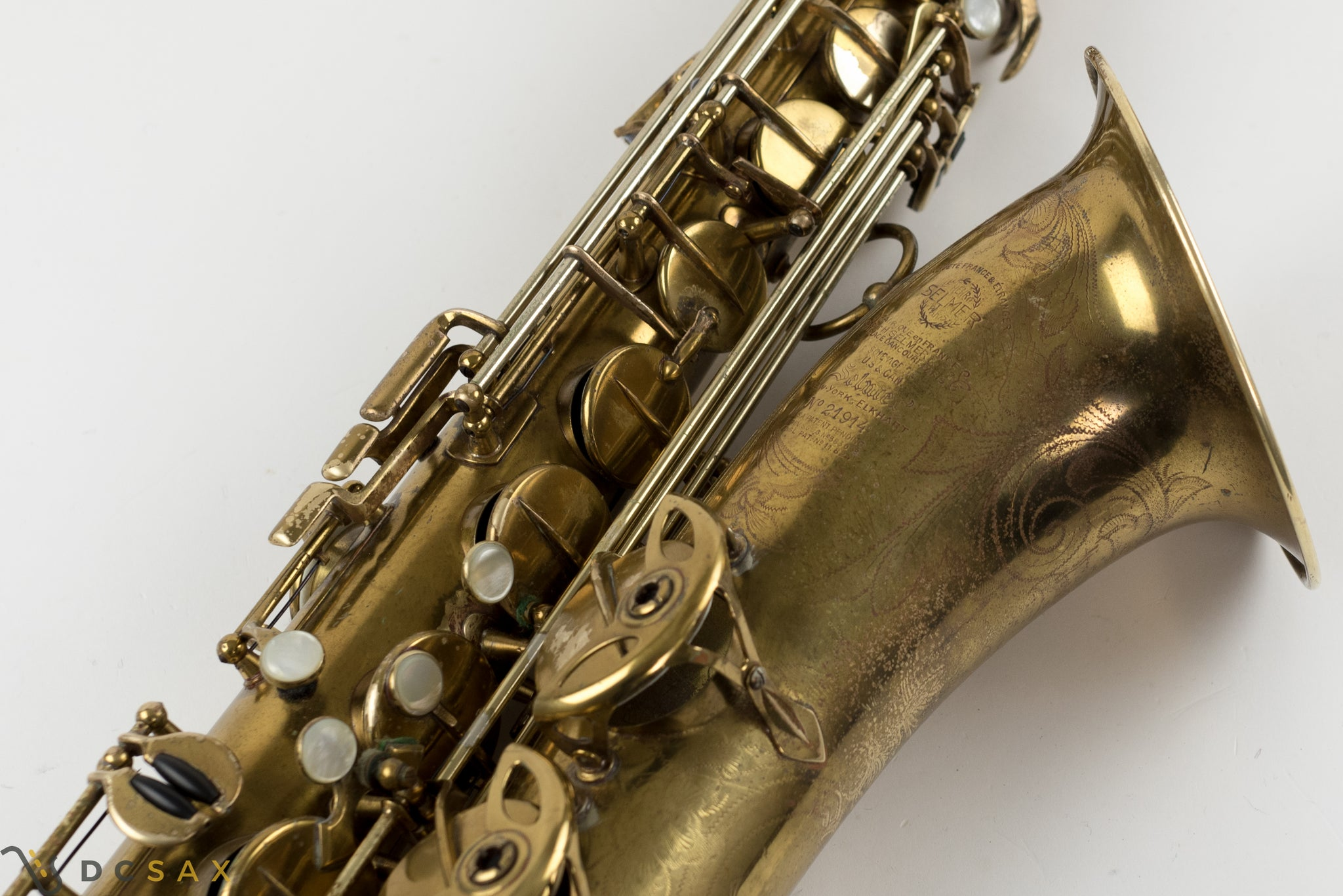 1936 Selmer Balanced Action Tenor Saxophone, Just Serviced, Video