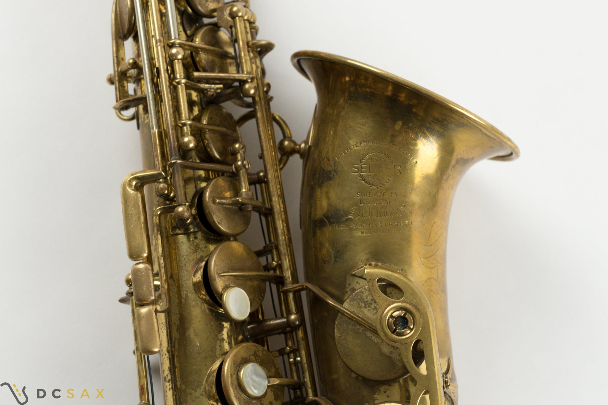 1950 41,xxx Selmer Super Balanced Action Alto Saxophone