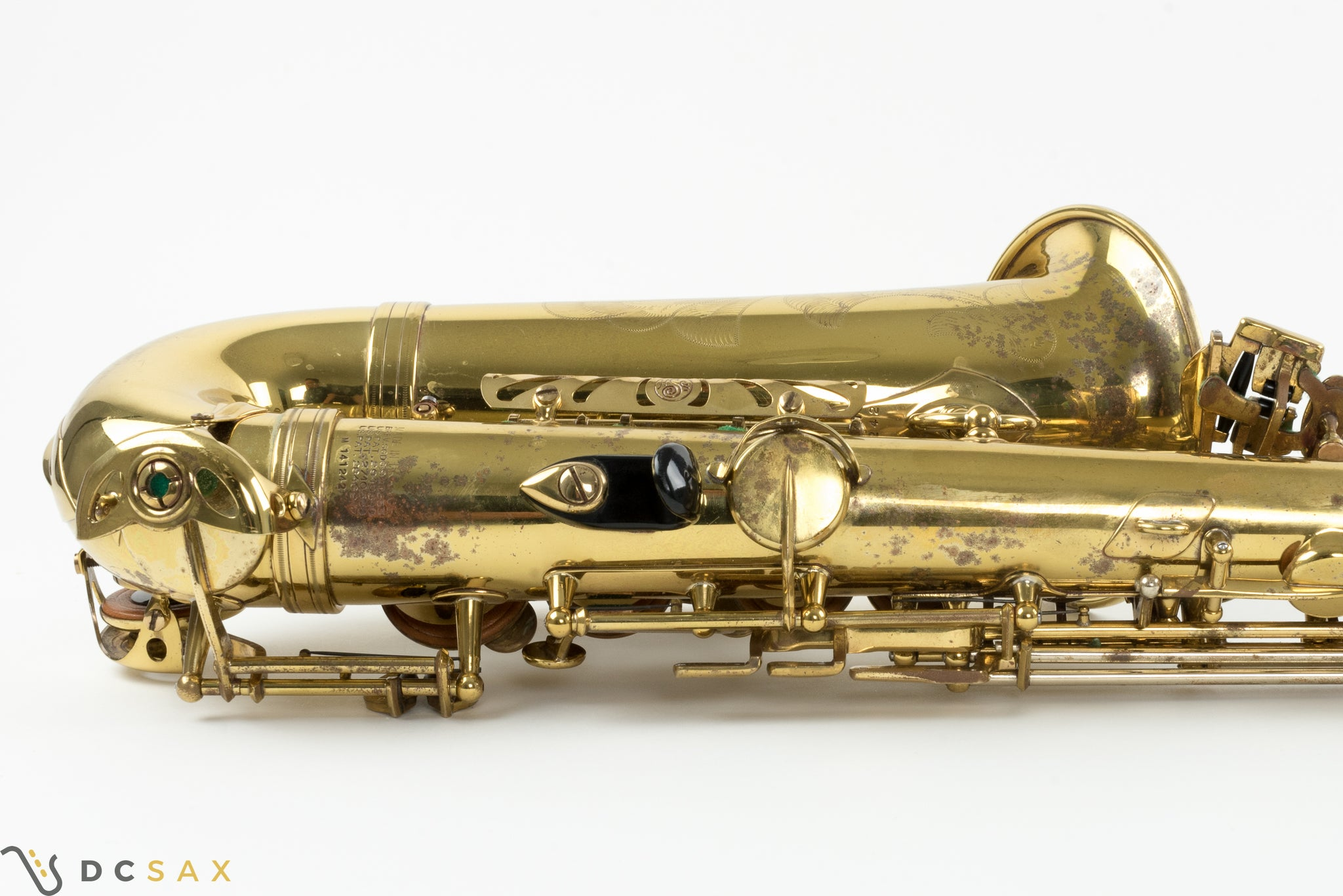 141,xxx Selmer Mark VI Alto Saxophone, Sanborn S/N, High F#, Video