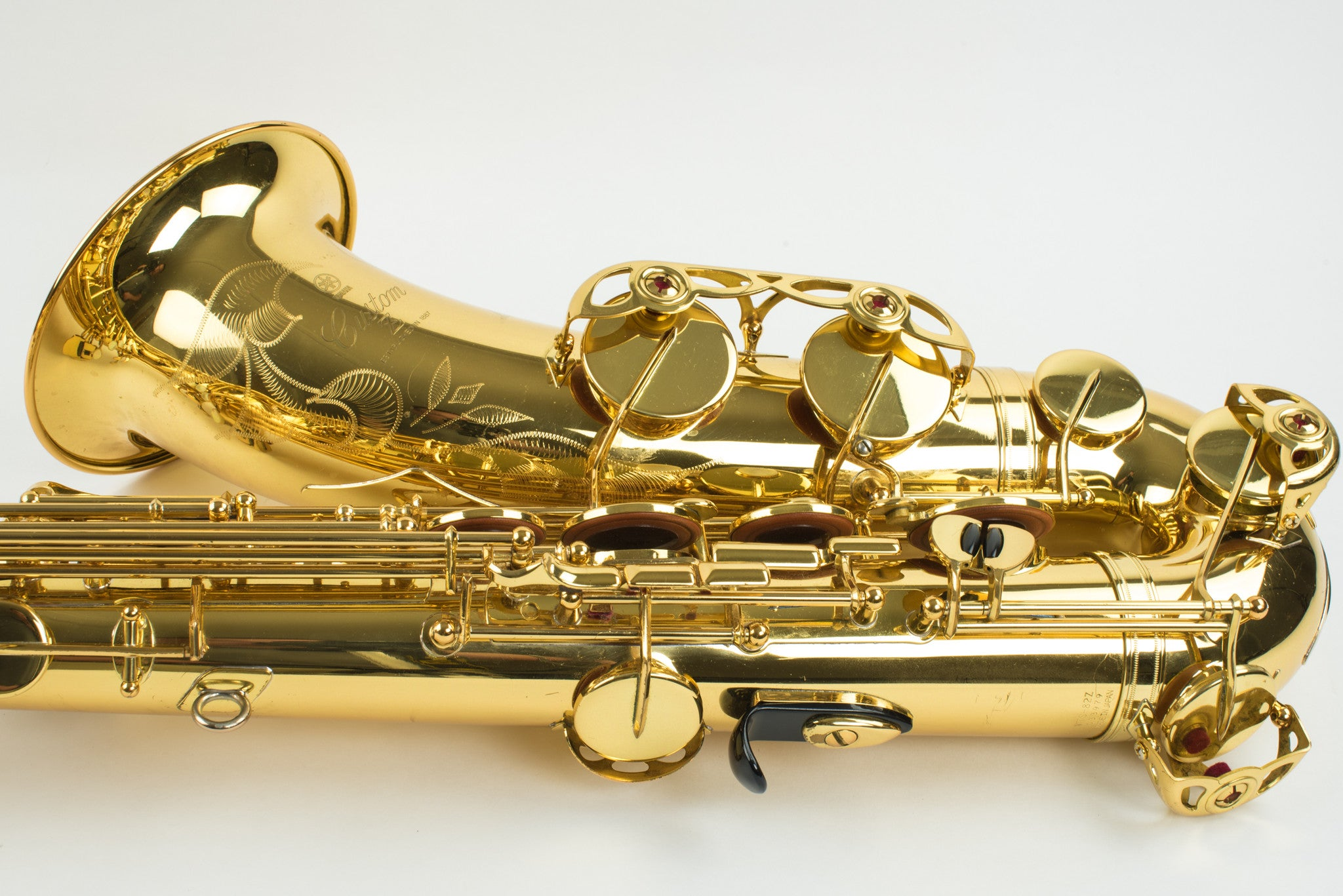 Yamaha Custom 82Z Tenor Saxophone With V1 Neck, YTS-82Z