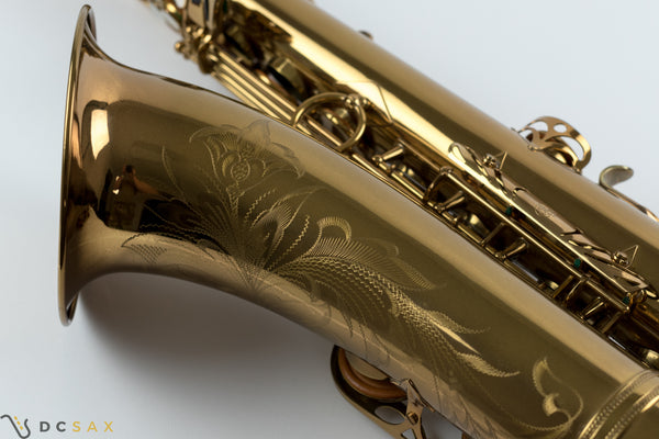 1957 72,xxx Selmer Mark VI Tenor Saxophone, Near Mint Condition, Video, WOW!