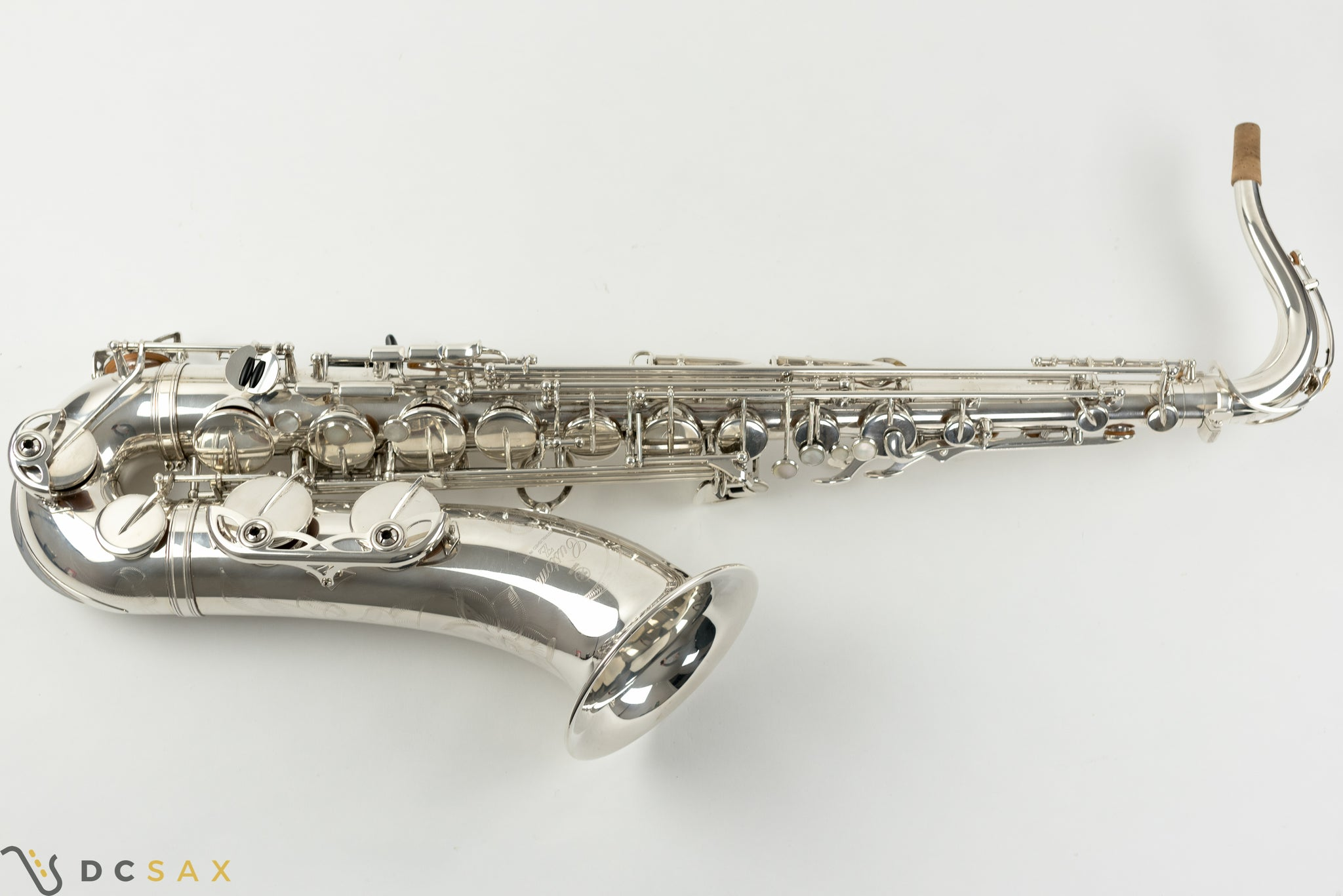Yamaha Custom YTS-82Zii Tenor Saxophone, Silver Plated, Just Serviced