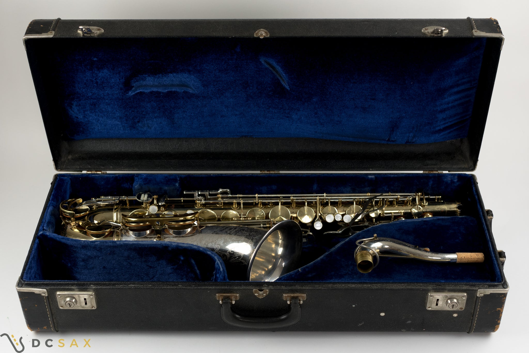 King Super 20 Tenor Saxophone, Silver Sonic, Just Serviced, Video