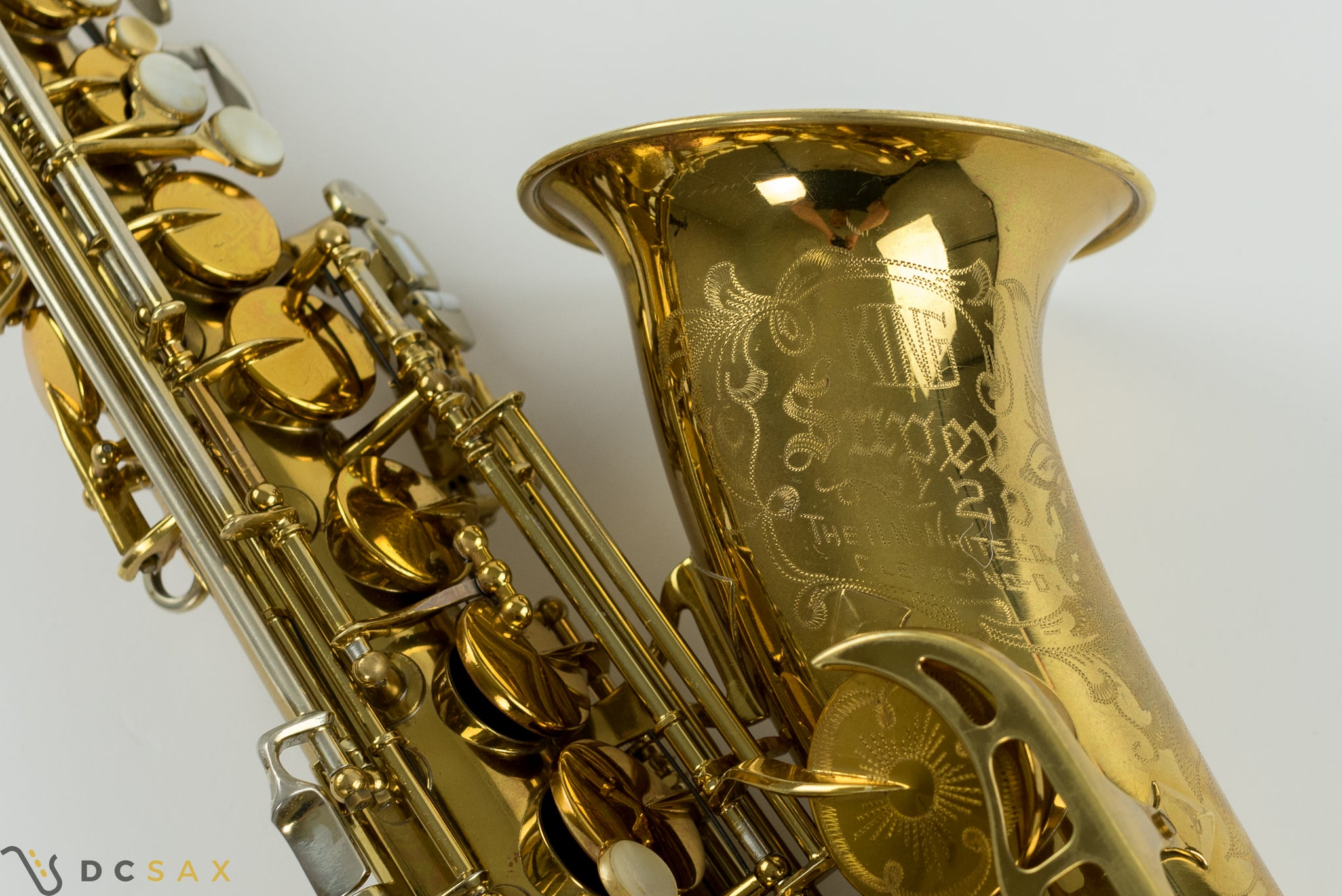 1957 King Super 20 Alto Saxophone, 95% Original Lacquer, Cleveland Era, Fresh Overhaul