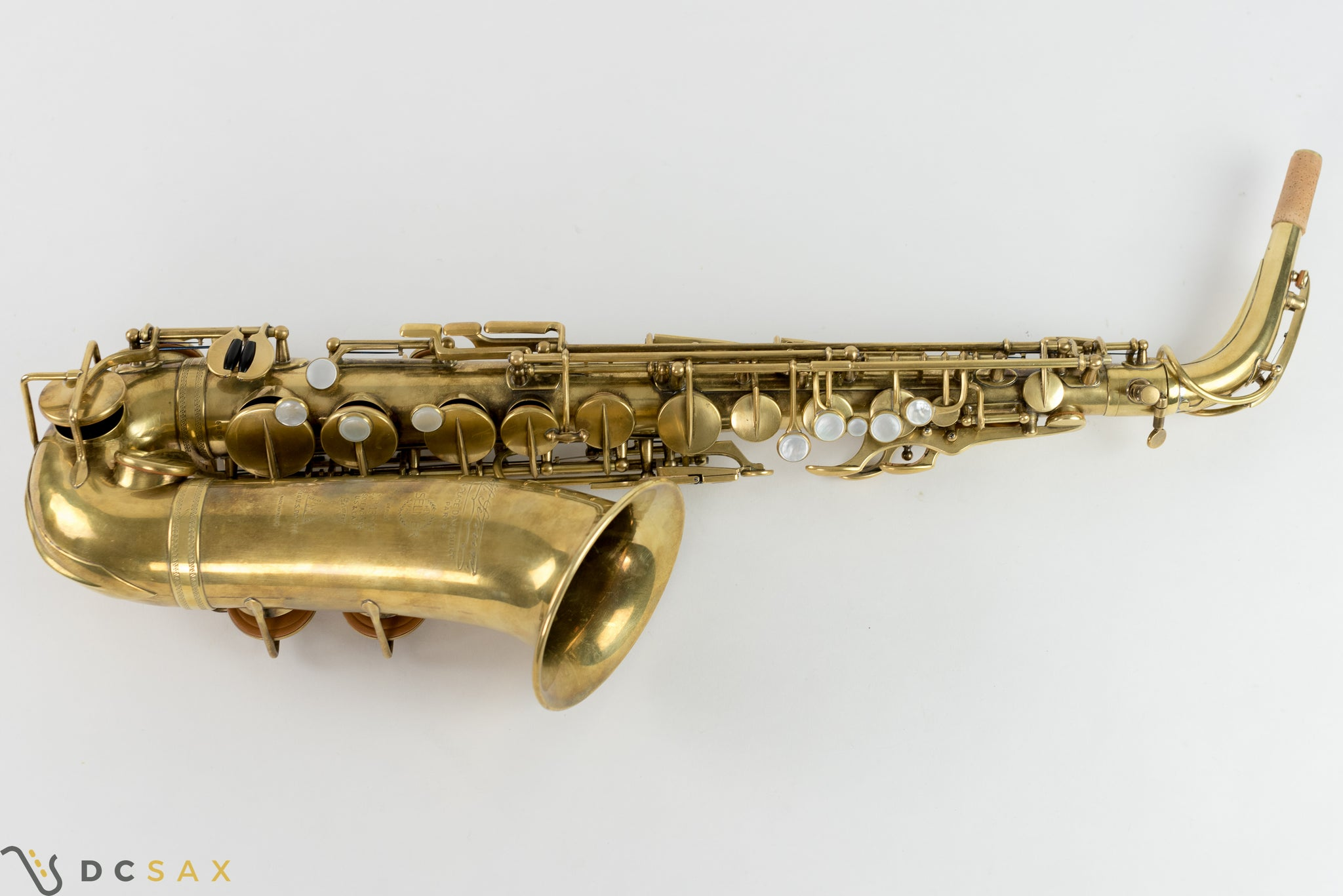Selmer Super / New Large Bore Alto Saxophone, Fresh Overhaul, Video