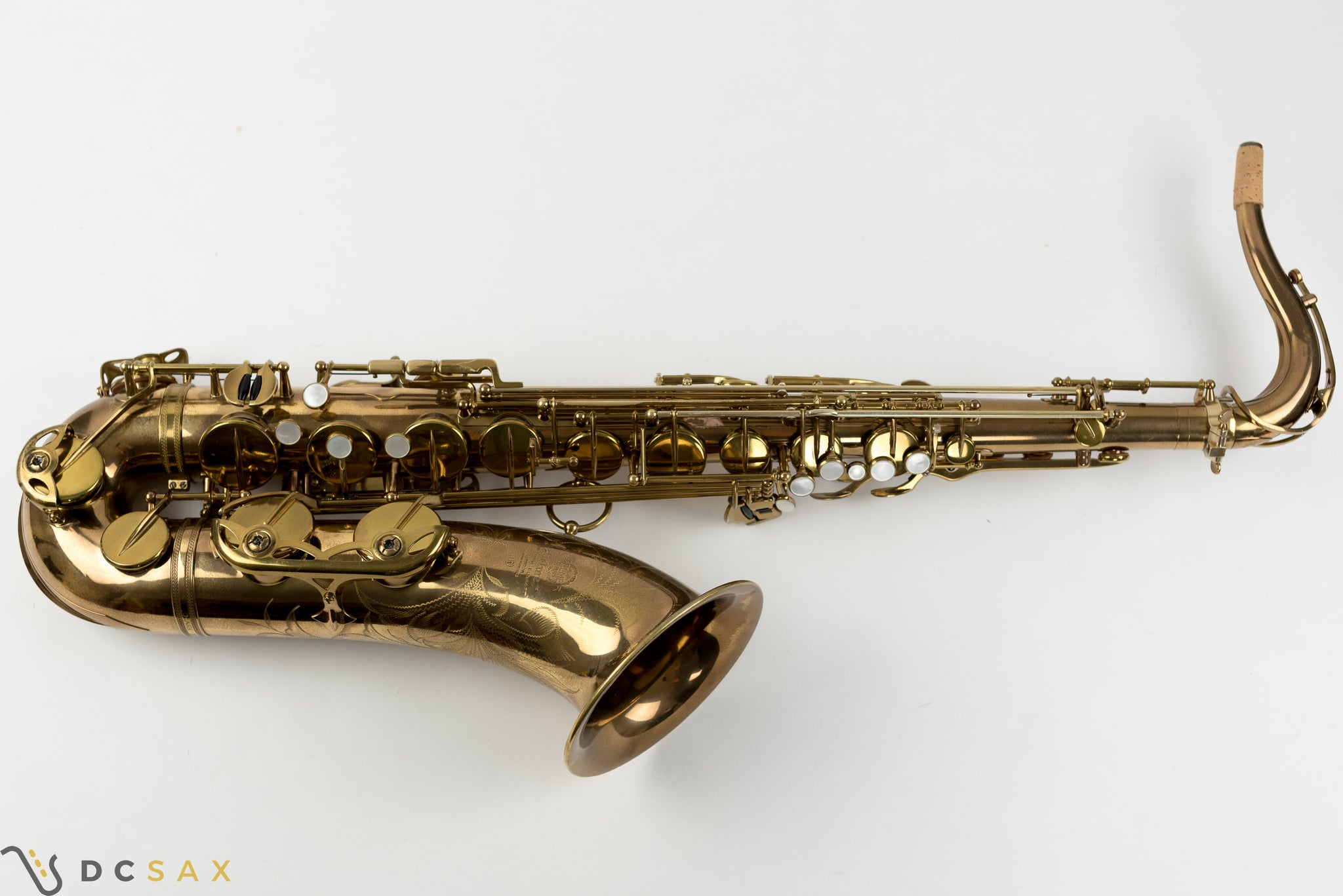 100,xxx 1962 Selmer Mark VI Tenor Saxophone, 97% Original Lacquer, Overhaul, Chris Potter S/N, Video