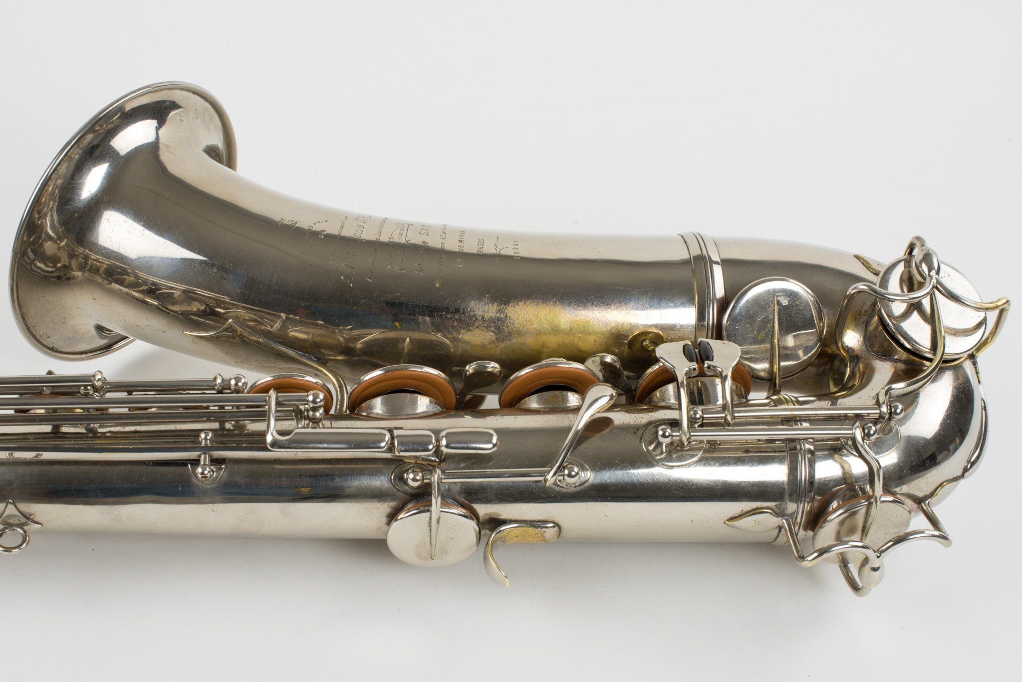 1910 Adolphe Sax Tenor Saxophone Fully Restored