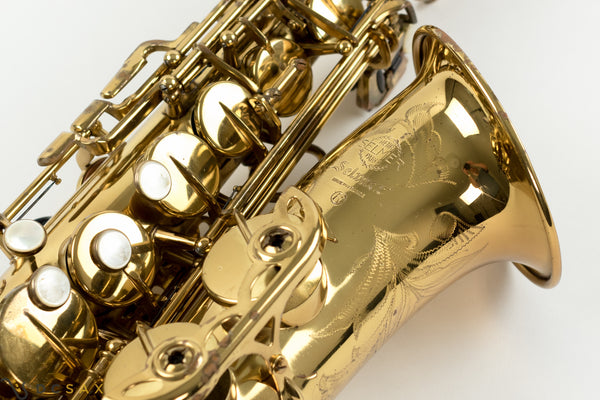 221,xxx Selmer Mark VI Alto Saxophone, 95% Original Lacquer, Overhaul, Video