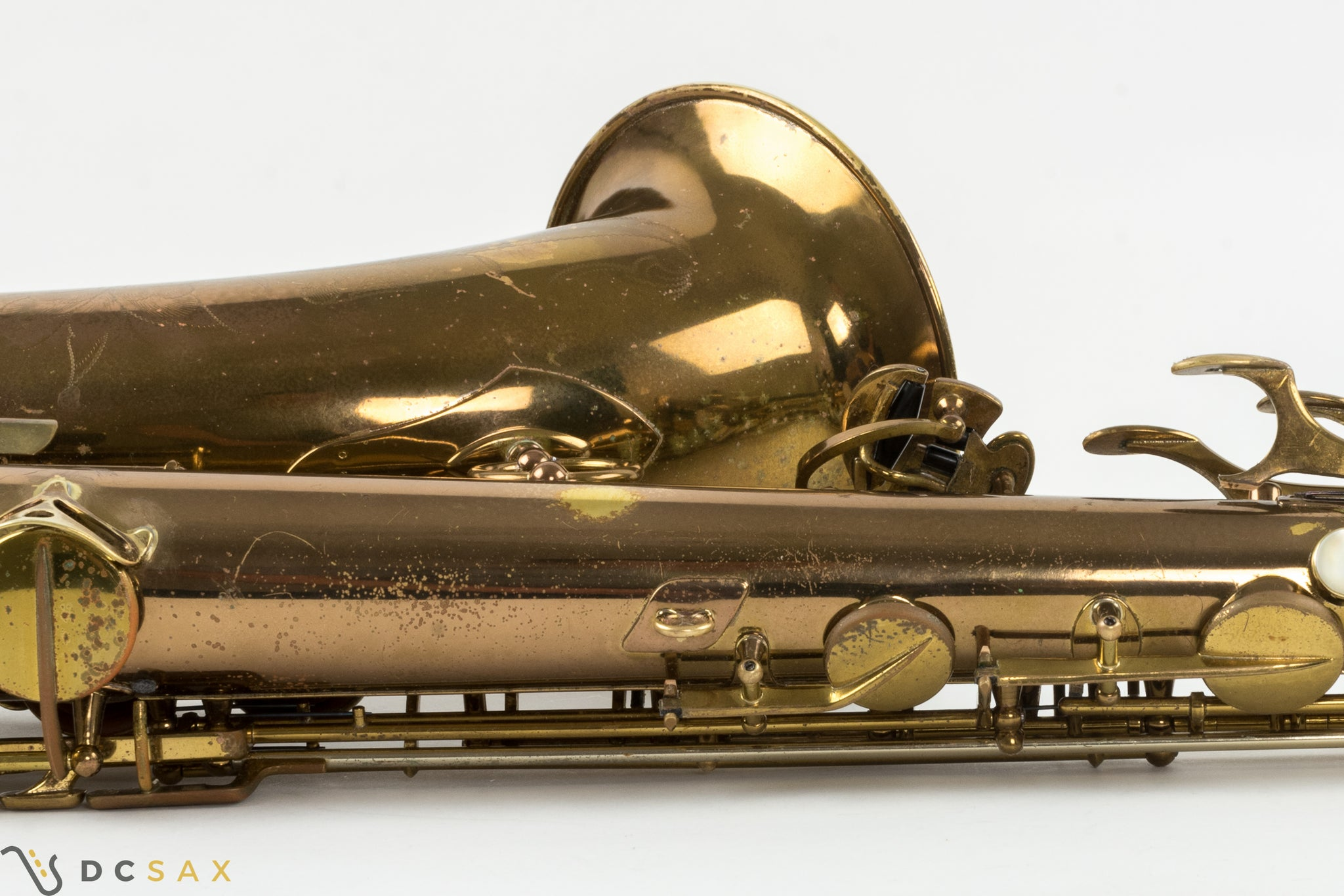 1952 49,xxx Selmer Super Balanced Action SBA Tenor Saxophone, Fresh Overhaul