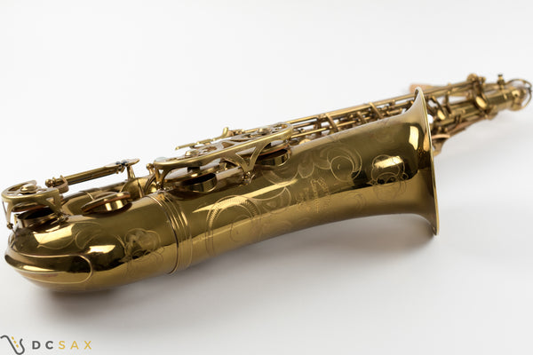 1958 Buffet Crampon Super Dynaction Tenor Saxophone, Fresh Overhaul, Video