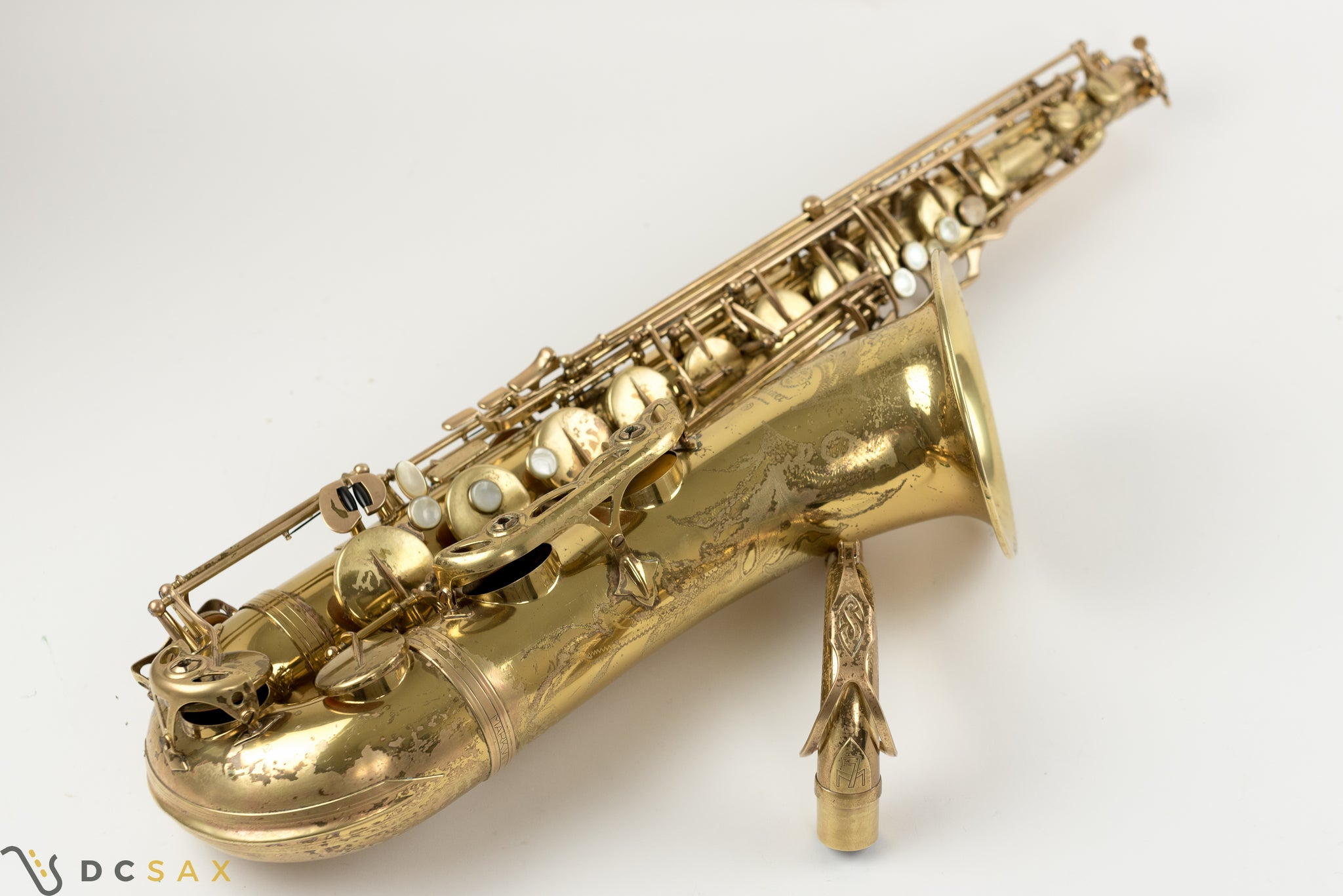 242,xxx Selmer Mark VII Tenor Saxophone, Just Serviced, Video