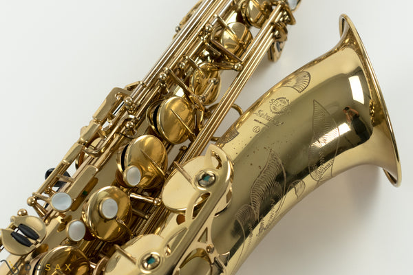 1969 171,xxx Selmer Mark VI Tenor Saxophone, 90% Original Lacquer, High F#, Prototype Model