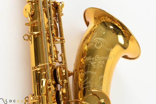 Dave Guardala Tenor Saxophone, Gold Plated, Video