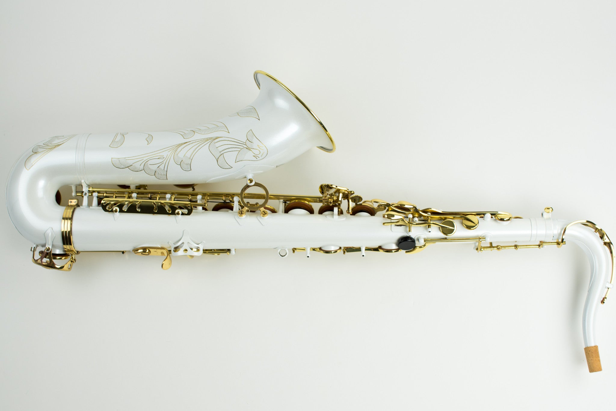 Selmer Series III Tenor Saxophone with Rare White Finish