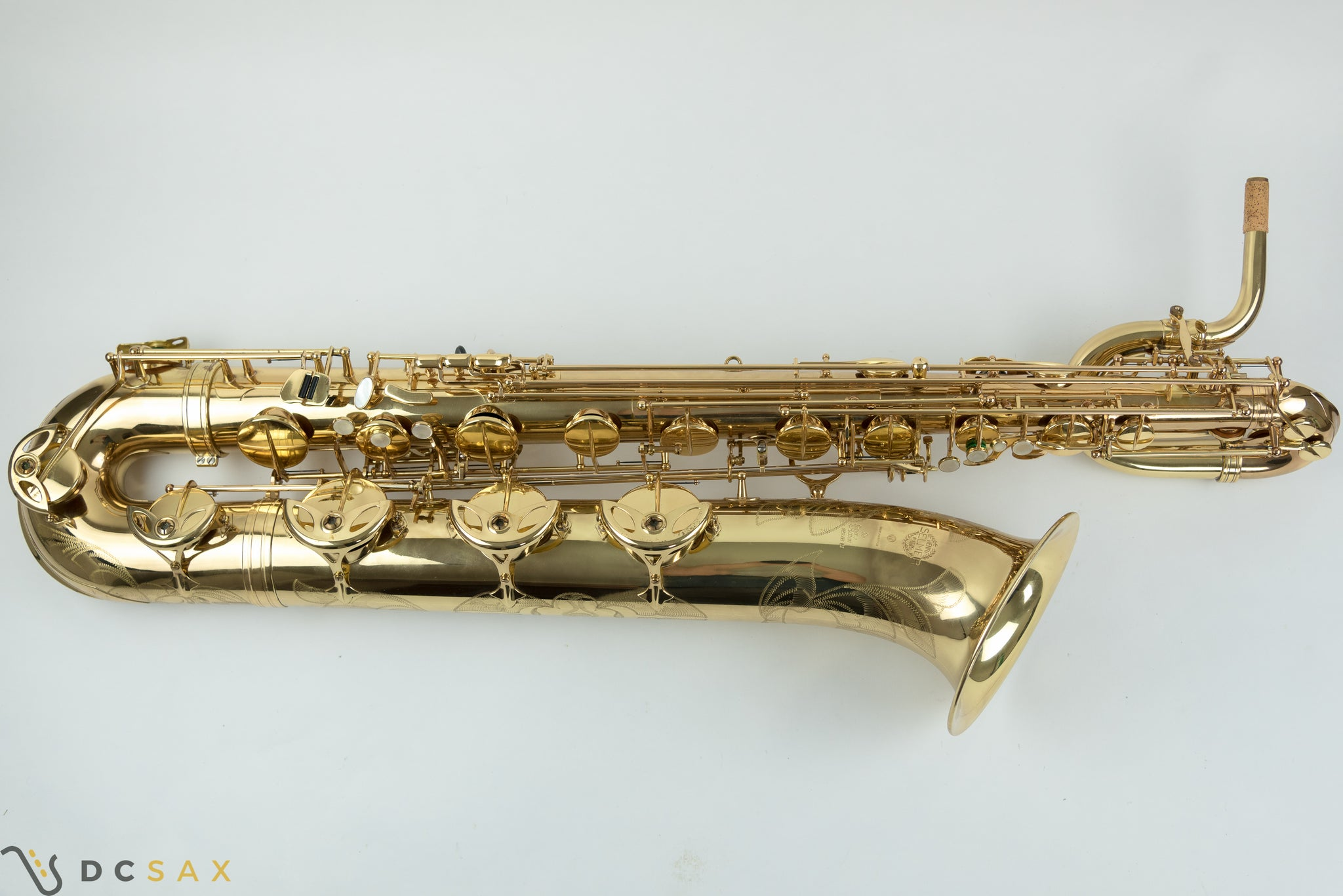 Selmer Super Action Series II Baritone Saxophone, Just Serviced