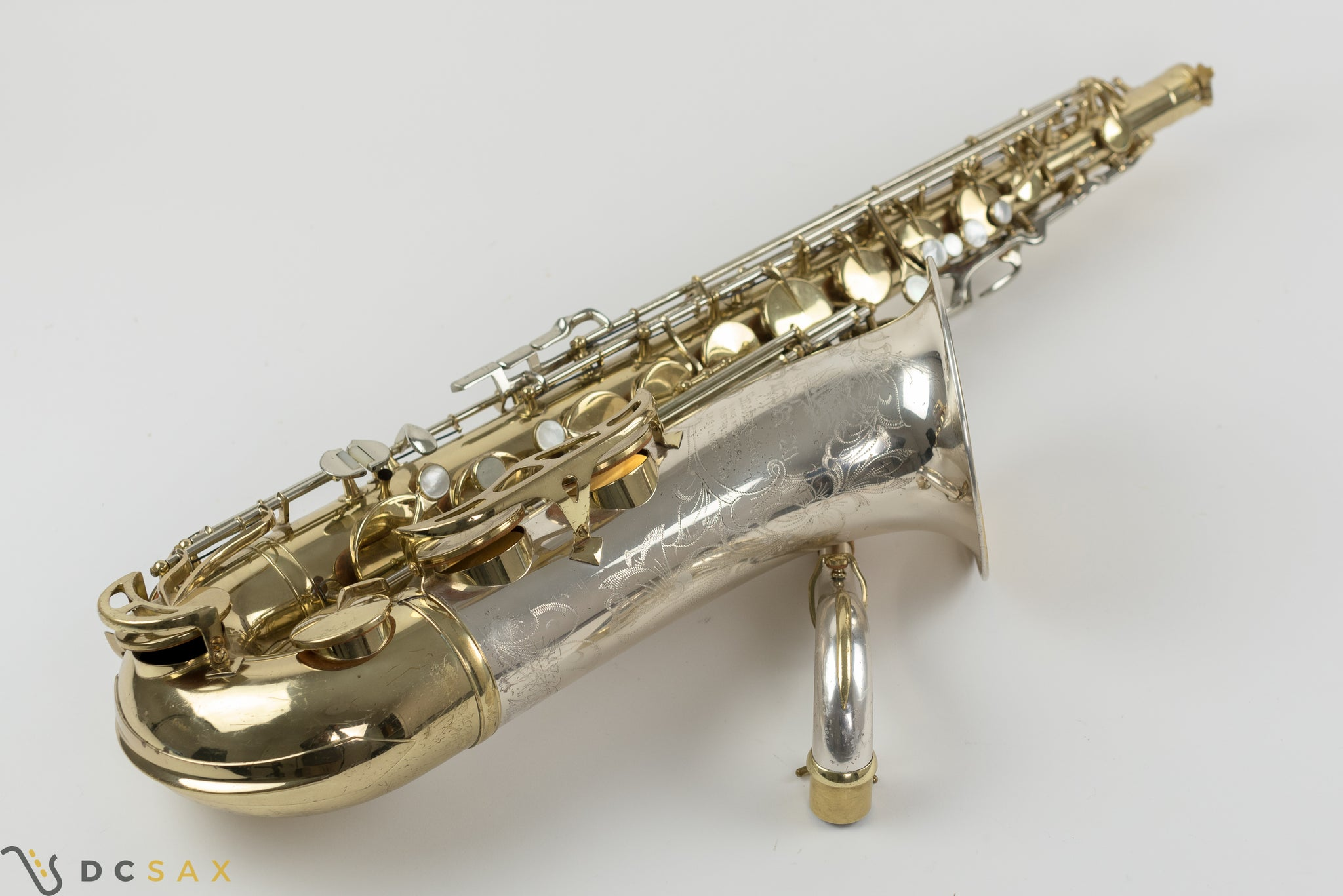 430,xxx King Super 20 Silver Sonic Tenor Saxophone, Just Serviced