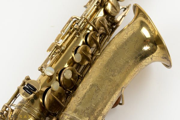 1937 Selmer Jimmy Dorsey Series I Alto Saxophone, Balanced Action Era, Video