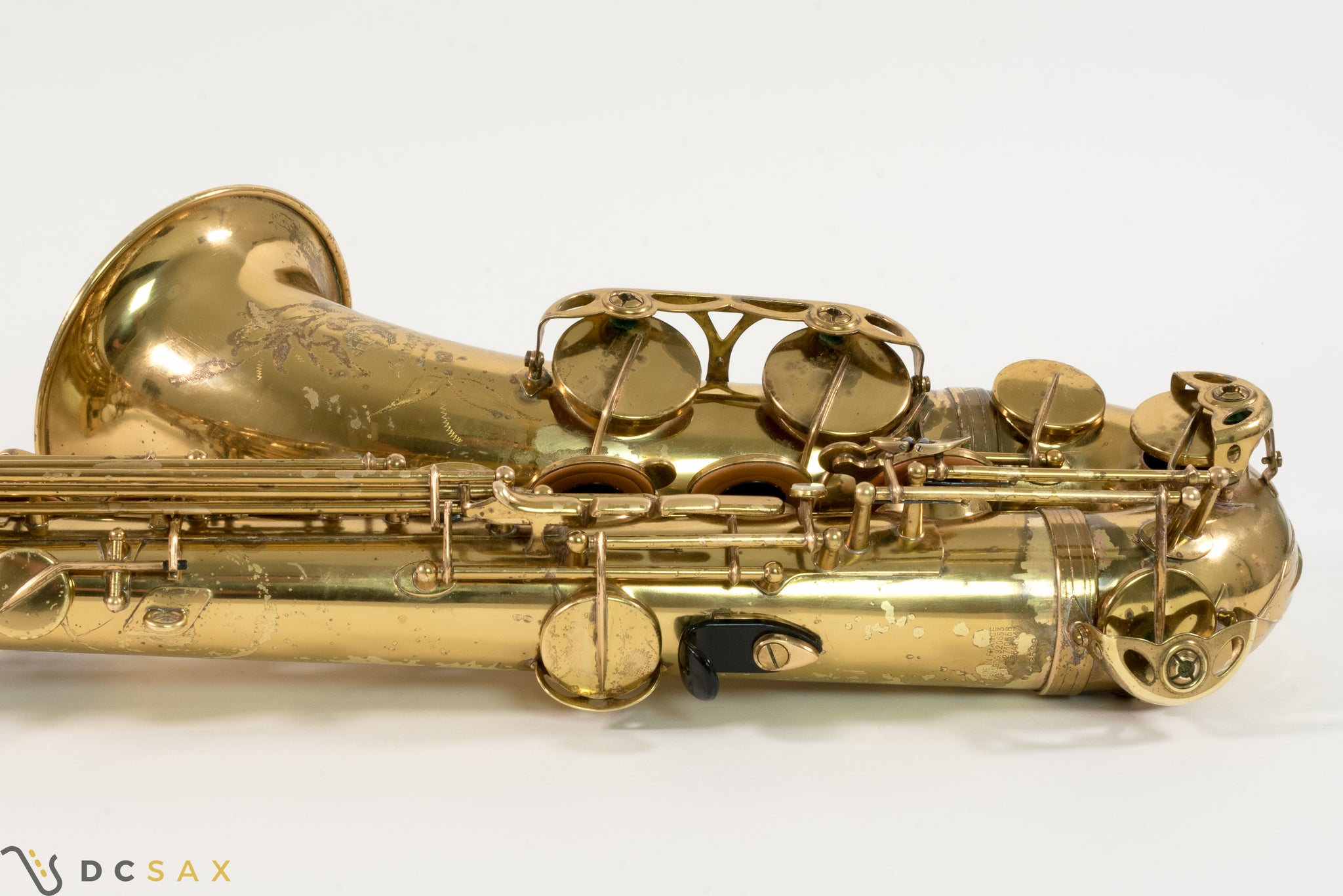 Selmer Mark VII Tenor Saxophone, Just Serviced, Video